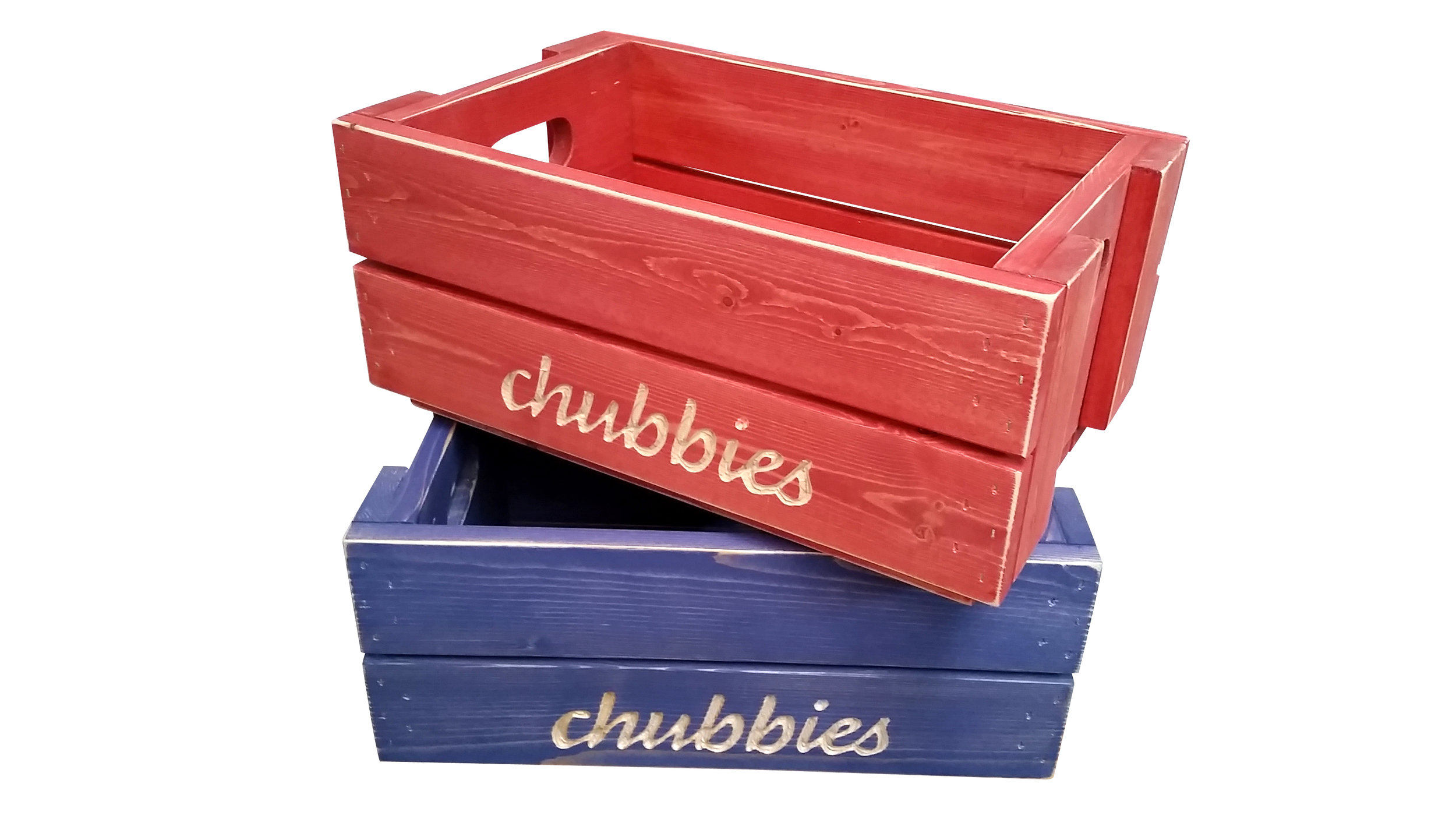 chubbies, asheville crate company, custom crates, asheville crate co.
