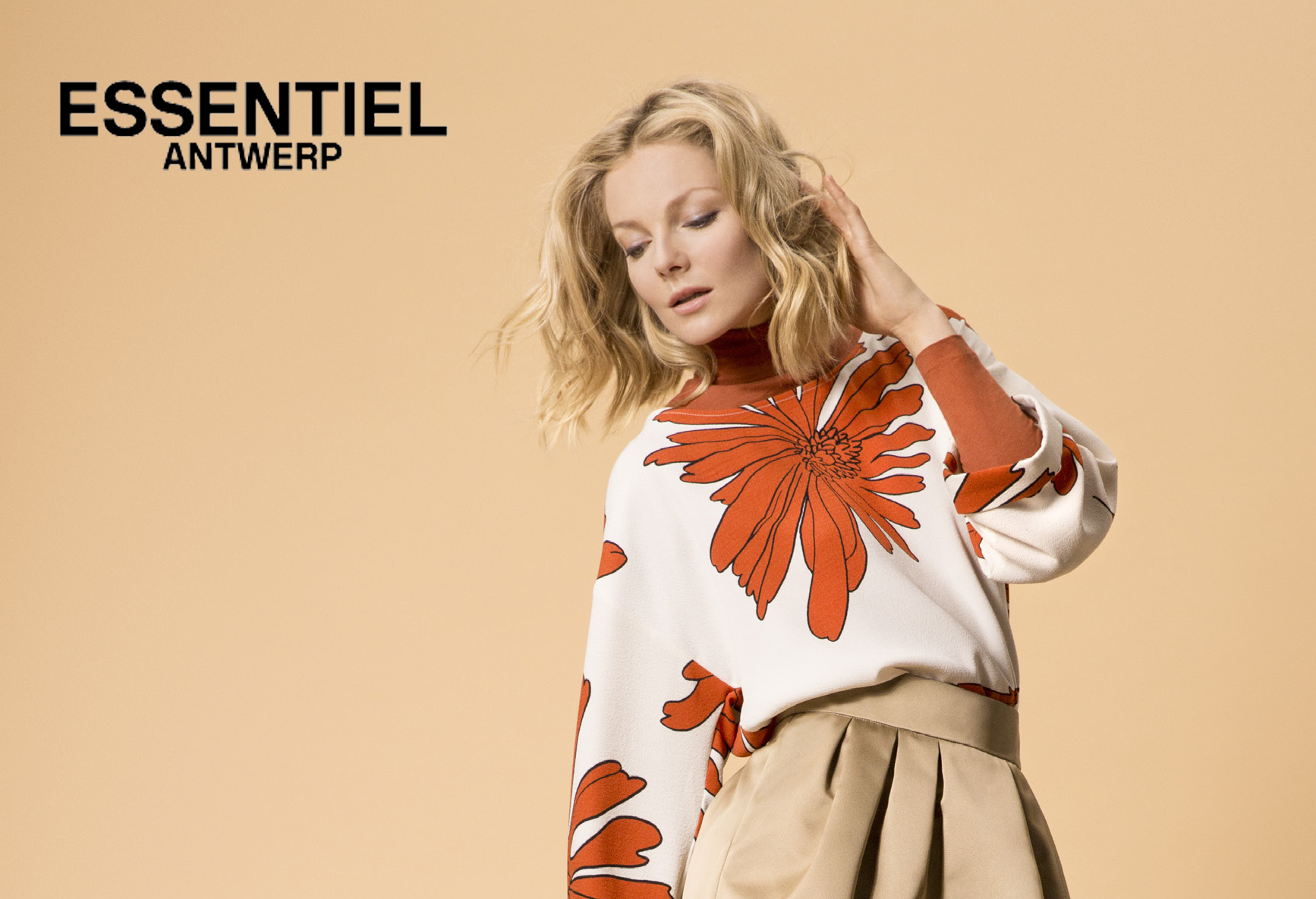 Essetiel  Essetiel, fun fashion through a subtle mix of prints, colors & fabrics. Essentiel is a line created in 1999 by Esfandiar Eghtessadi (Nicole Cadine's son) & his wife Inge Onsea & is Antwepen based. Essentiel stands for refreshing offbeat & luxurious fashion, renowned for its graphic & floral prints & trendy mixes of color. The collections & rich, unique and accessible.