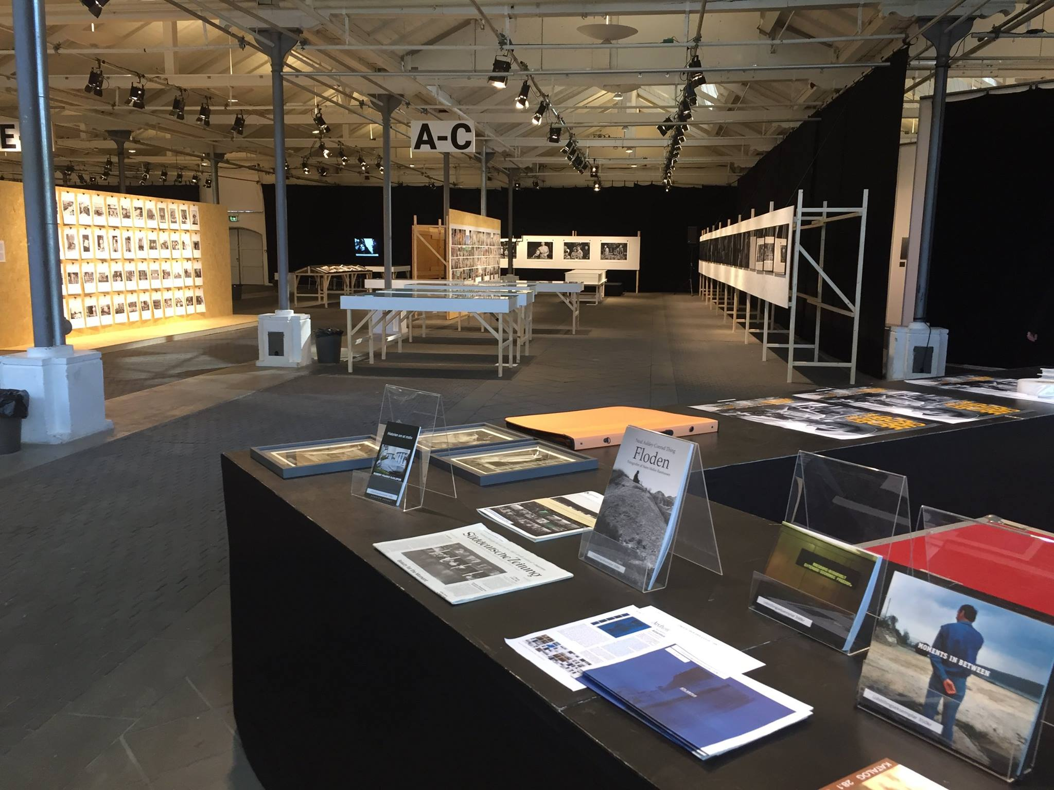 Atlantus on sale in Copenhagen during a major summer exhibition on Street Photography – A Tribute to Everyday Life at  Øksnehallen