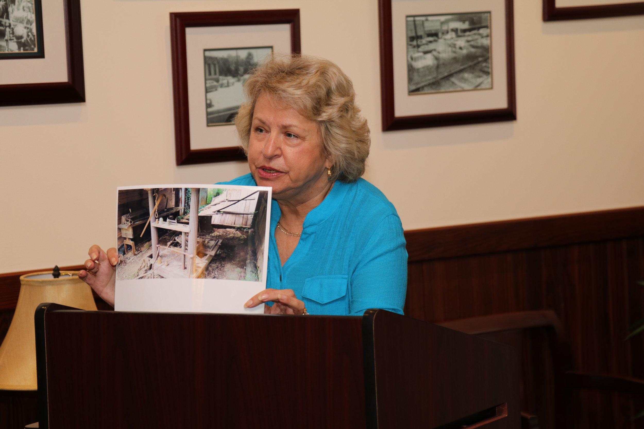 Becca Grimes, Save Acworth History Foundation Treasurer