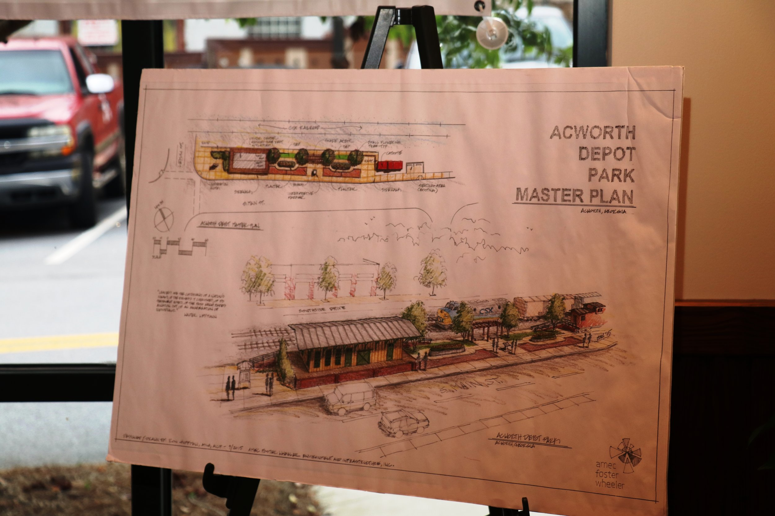 The Plans for the Depot Museum