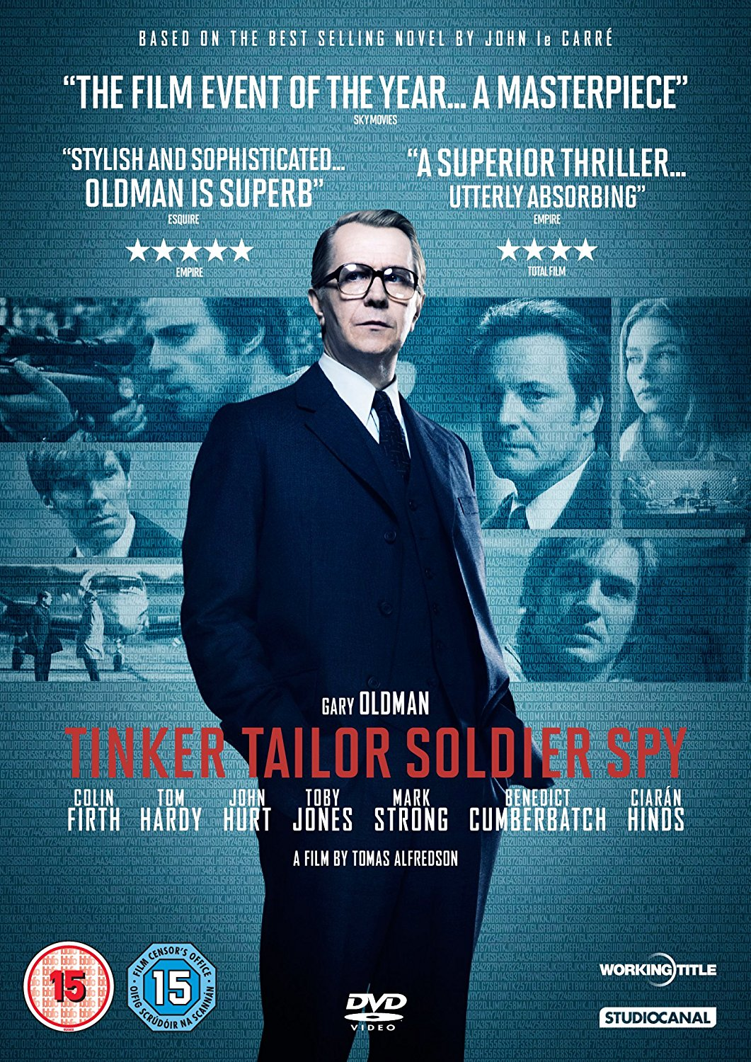 Tinker Taylor Soldier Spy - One of the films in the first European feature film slate financing deal involving Lazuli Solutions.