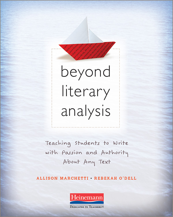 Beyond Literary Analysis