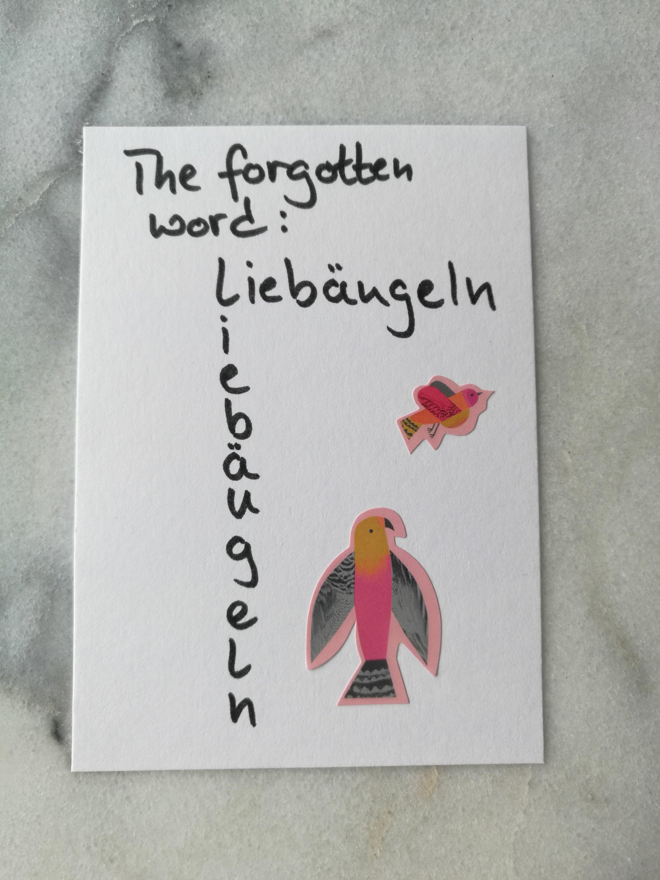 fancy ogle liebäugeln language Sprache vocabulary Wortschatz Ausdruck expression
