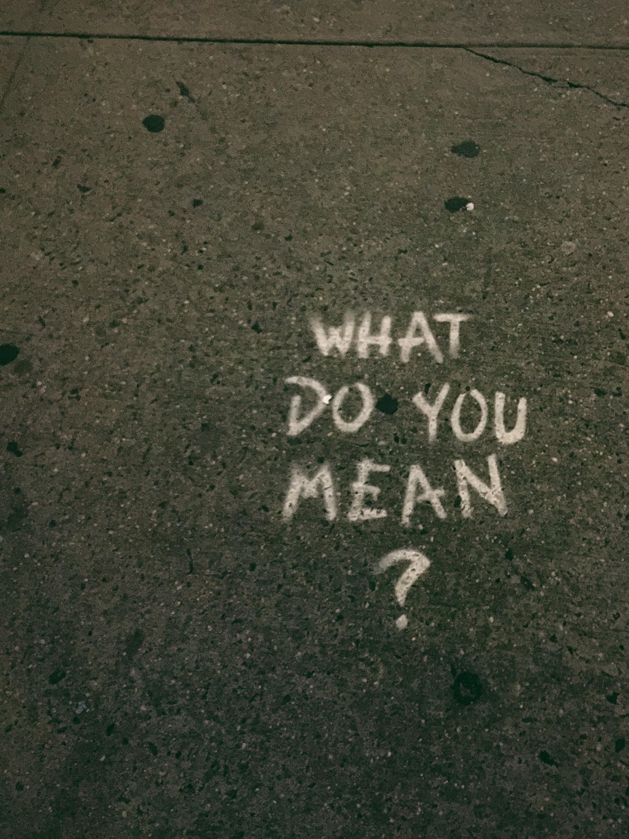 how to find the right answer wie bekomme ich die richtige Antwort