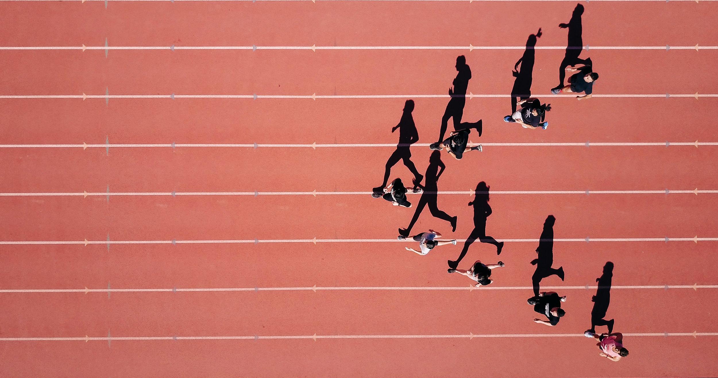 Ziellinie-finish line