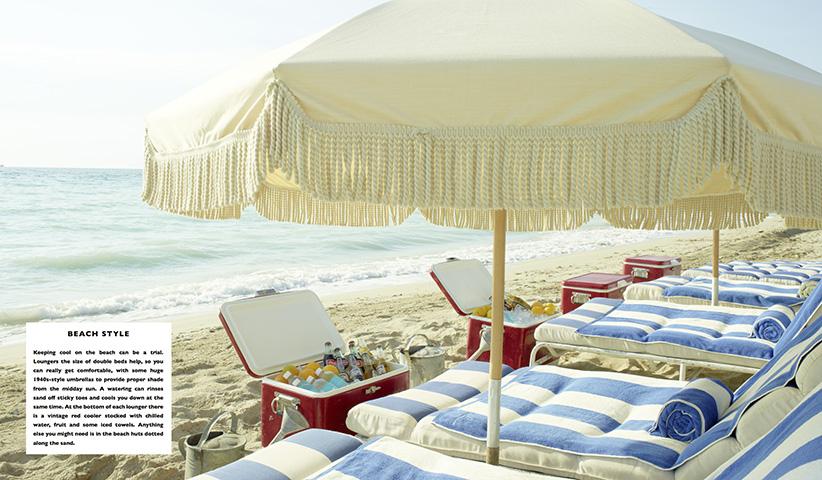 Es geht keinesfalls nur um das eigene Zuhause. Ob am Strand oder daheim,  Eat Drink Nap  bietet eine Fülle stilvoller Ideen.