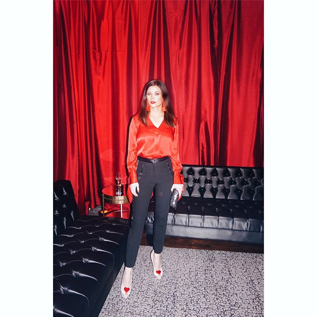 """#RedRoomParty by @diesel - which was weeks ago but I'm posting late as always 😌  Called """"The Sexiest Party in the World"""" by @bizbash, it was insanely good. Produced by #CandiceAndAlison"""