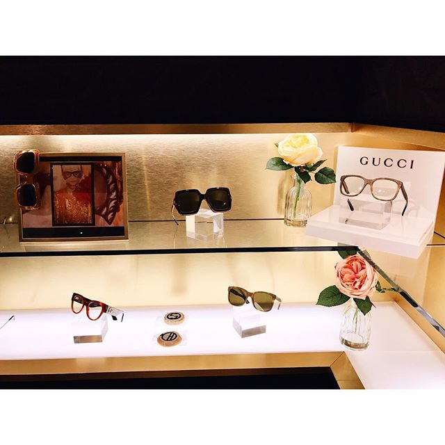 Gucci breaks in with a remarkable #GucciHollywoodForever collection inspired by the 70s color and form, and named after a legendary cemetery in Los Angeles. The collection is exclusive to @Holly_Eyewear and #Gucci boutiques only #cocktail #launch #torontolife #toronto