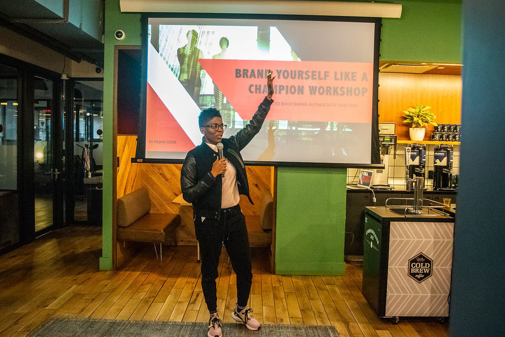 Brand Yourself Like A Champion Workshop - Philadelphia