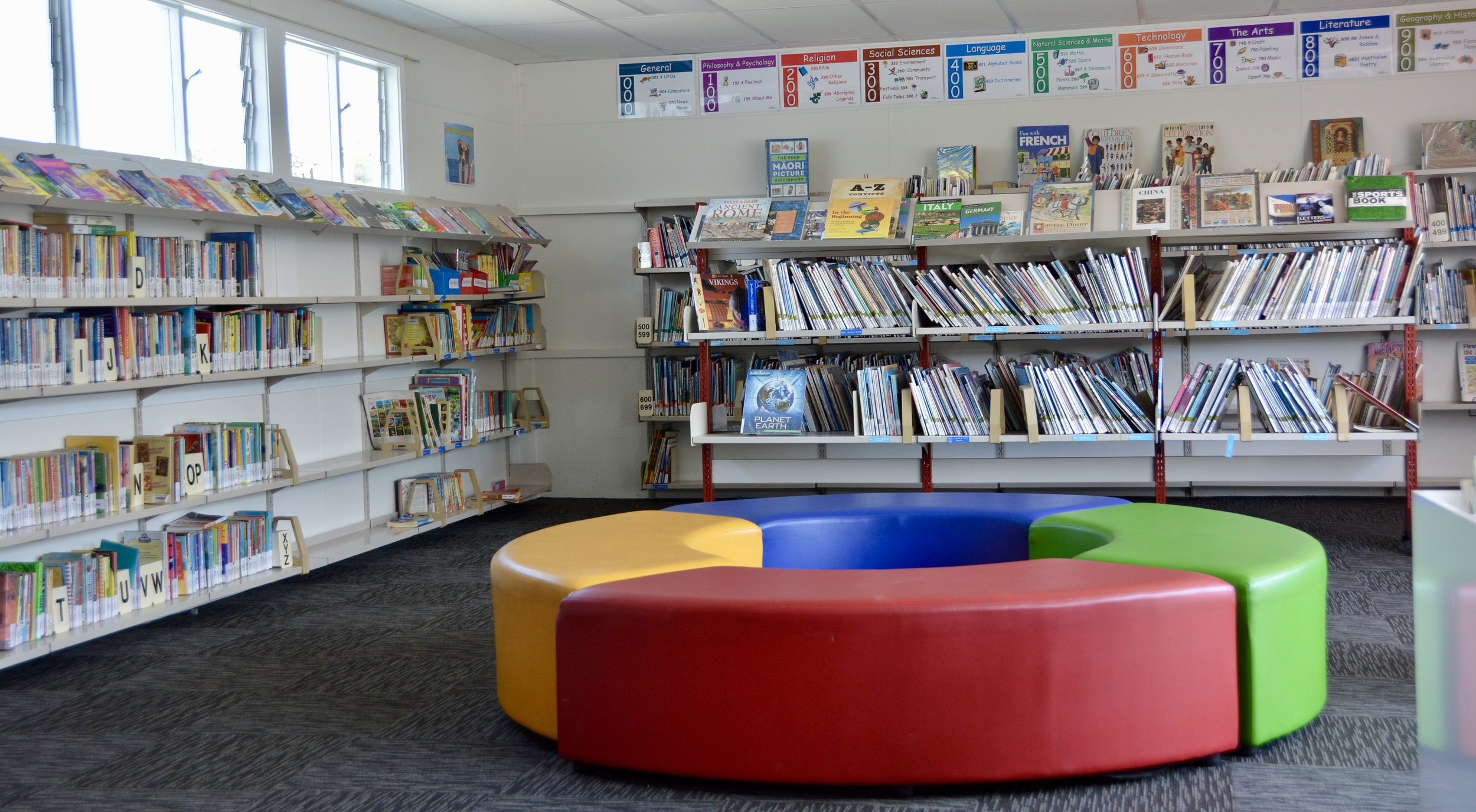 OUR BRAND NEW LIBRARY