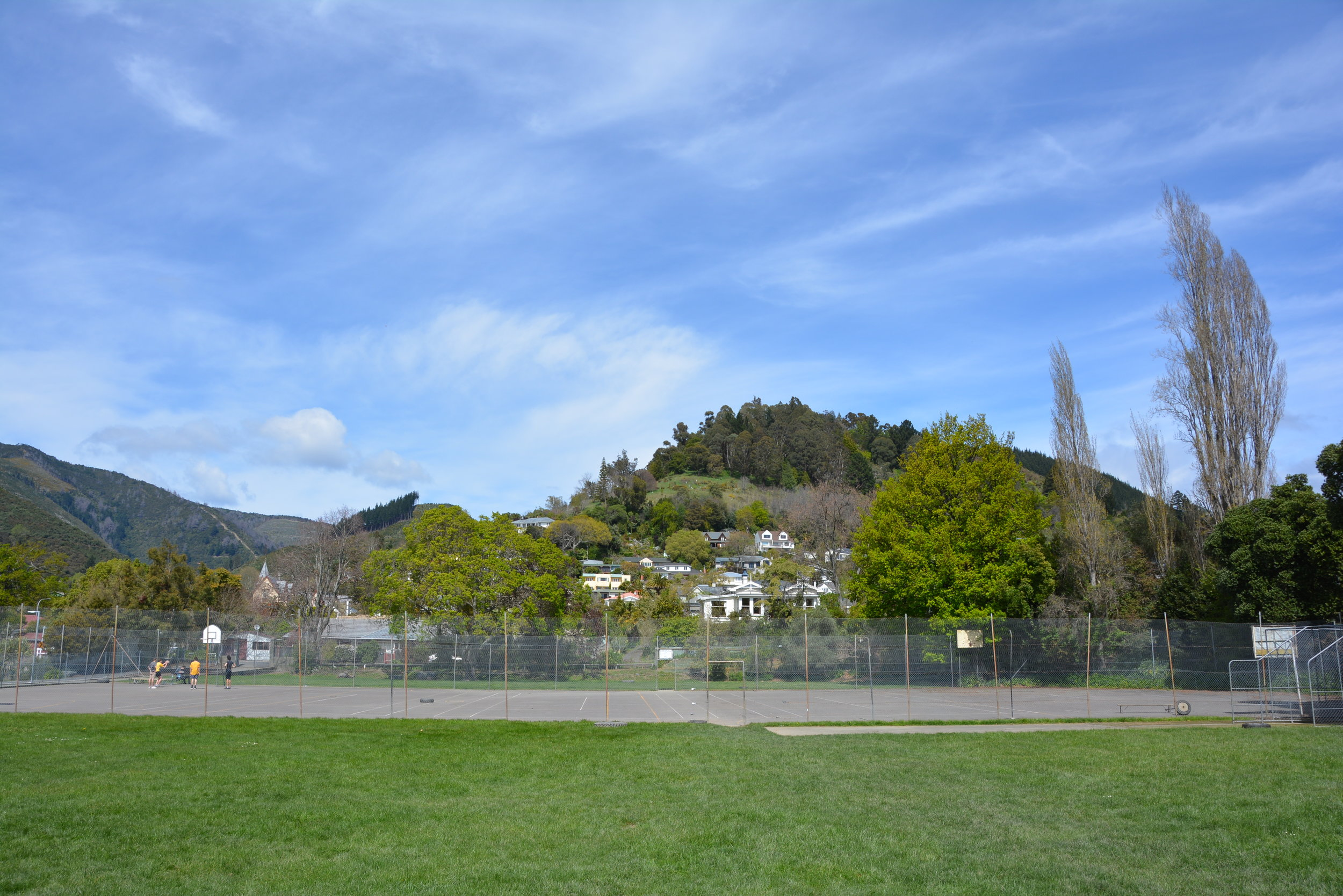 TENNIS COURTS AND SPORTS FIELDS