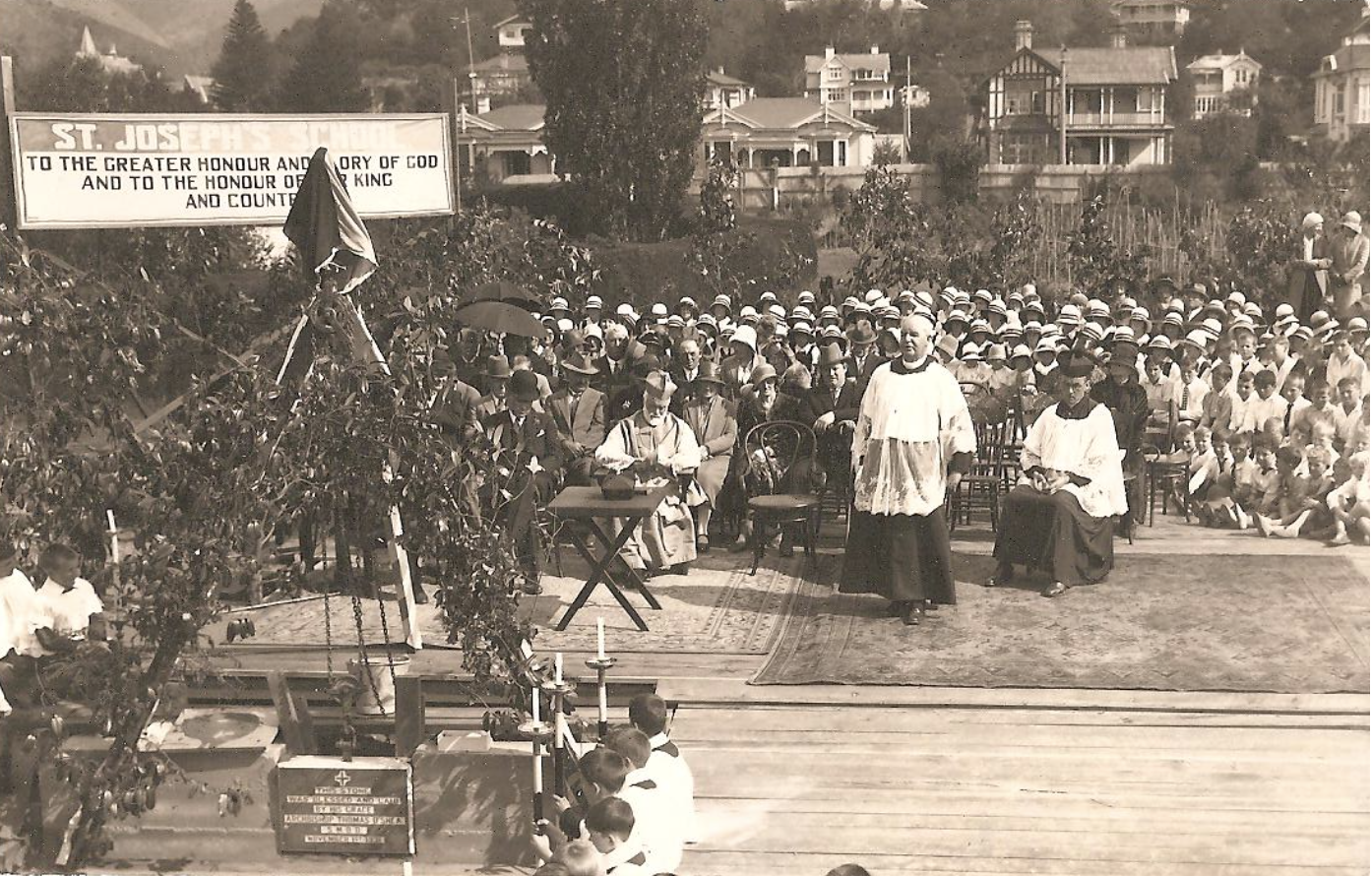 The Blessing of St Joseph's School 1932