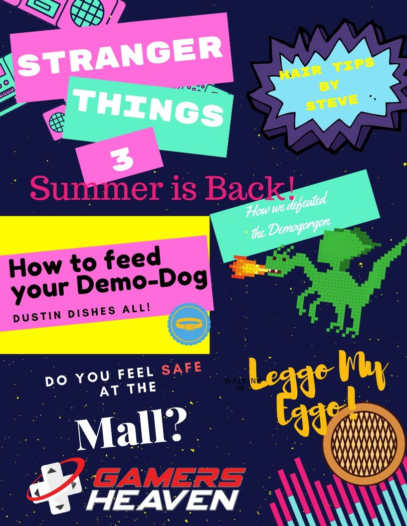 It's Summer - And we're going back to the mall