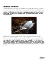 Depression and the Cave