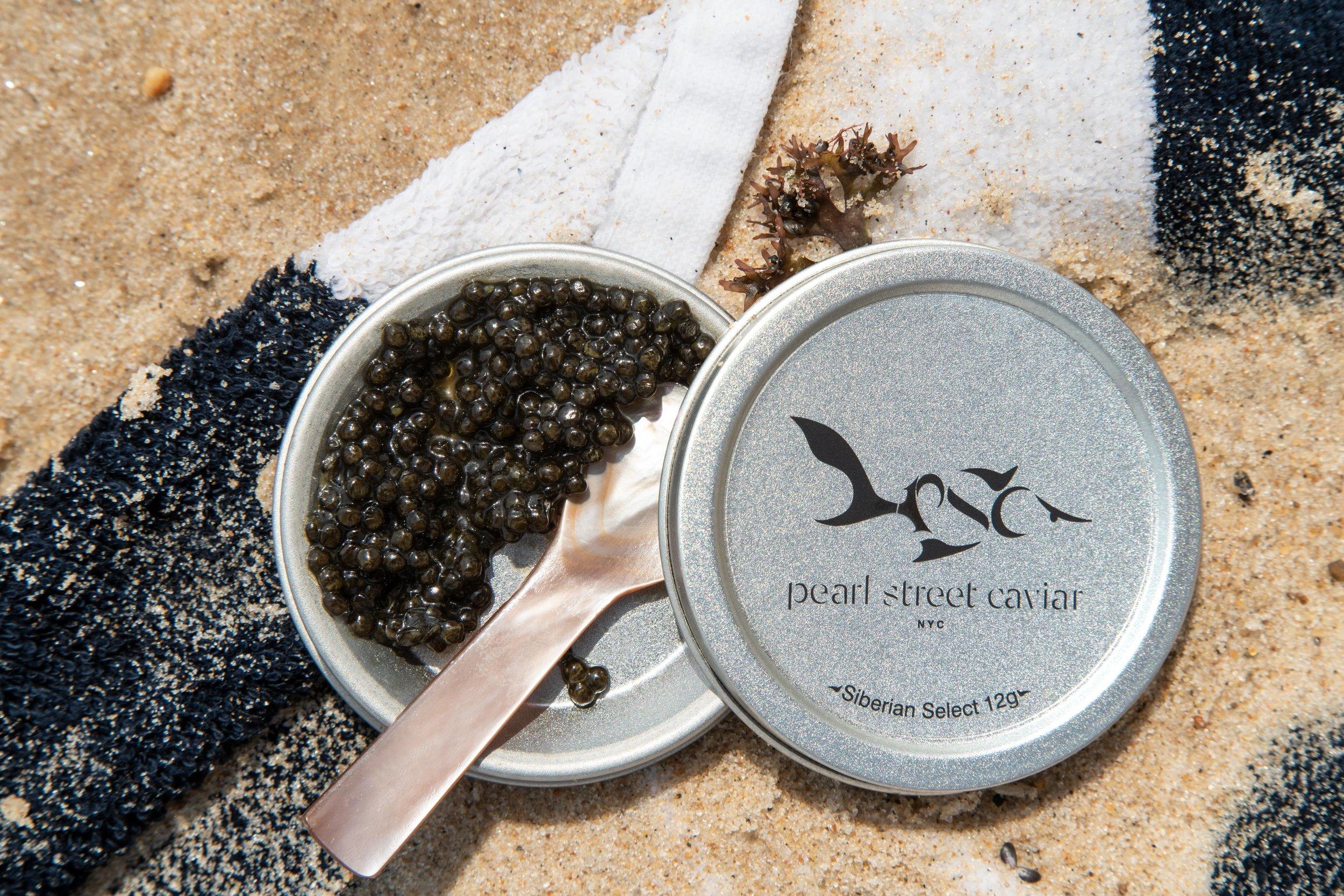 Pearl Street Caviar on the Beach