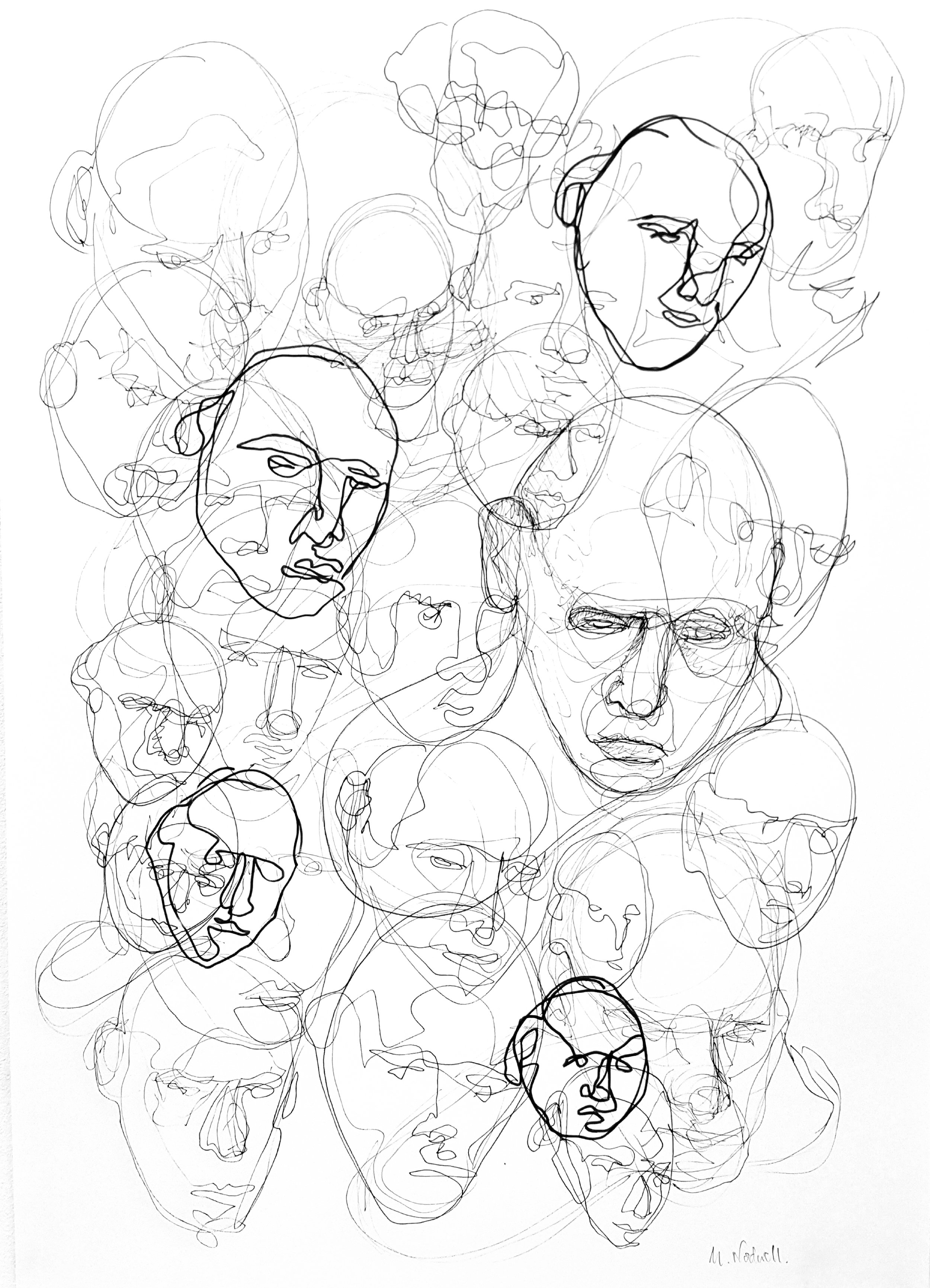 Mask II, Marcus Nodwell, Multimedia Art Show.jpg