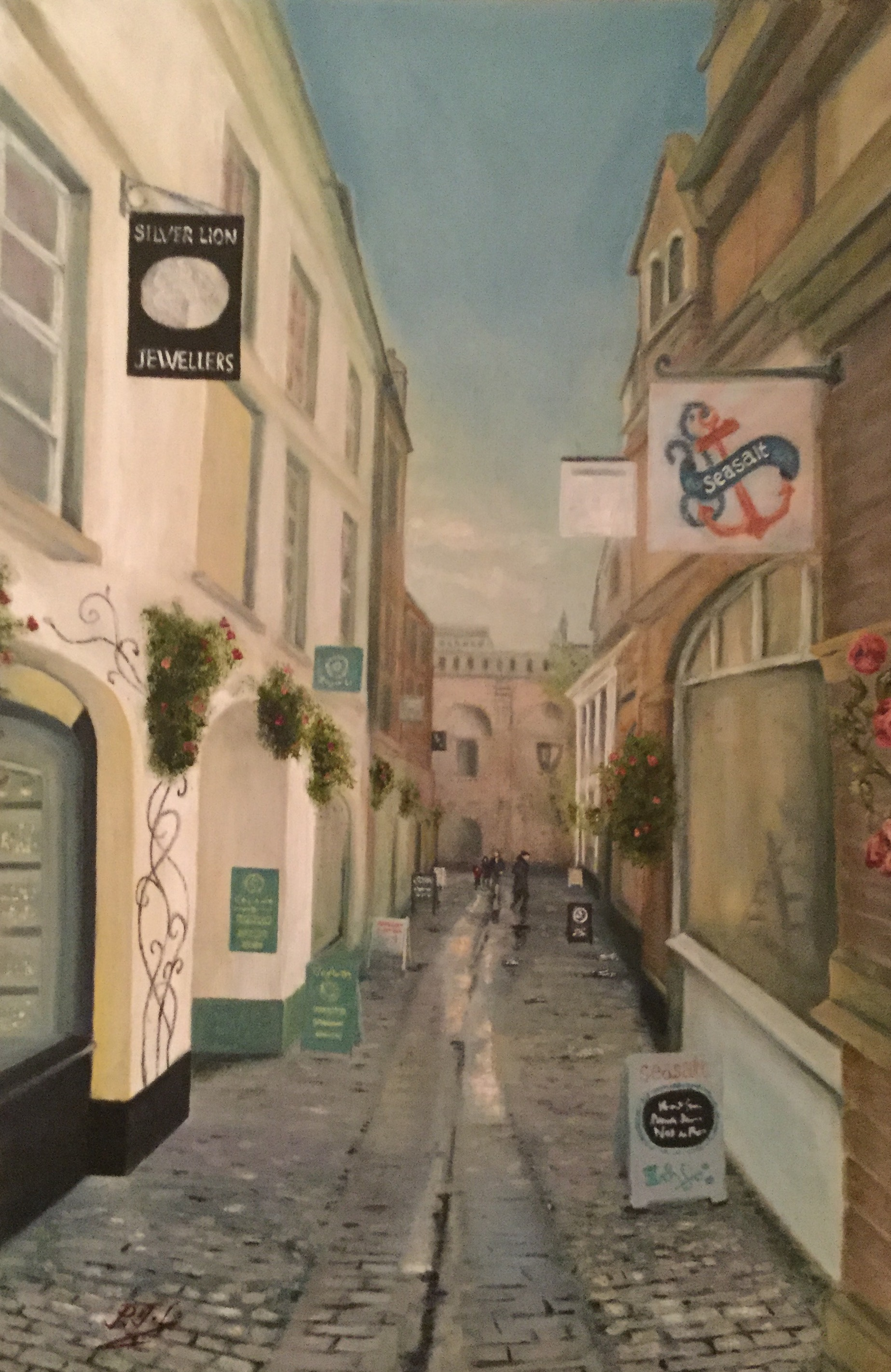 Gandy Street, Exeter by Paul Littlejohns @ Multimedia Art Show.jpeg