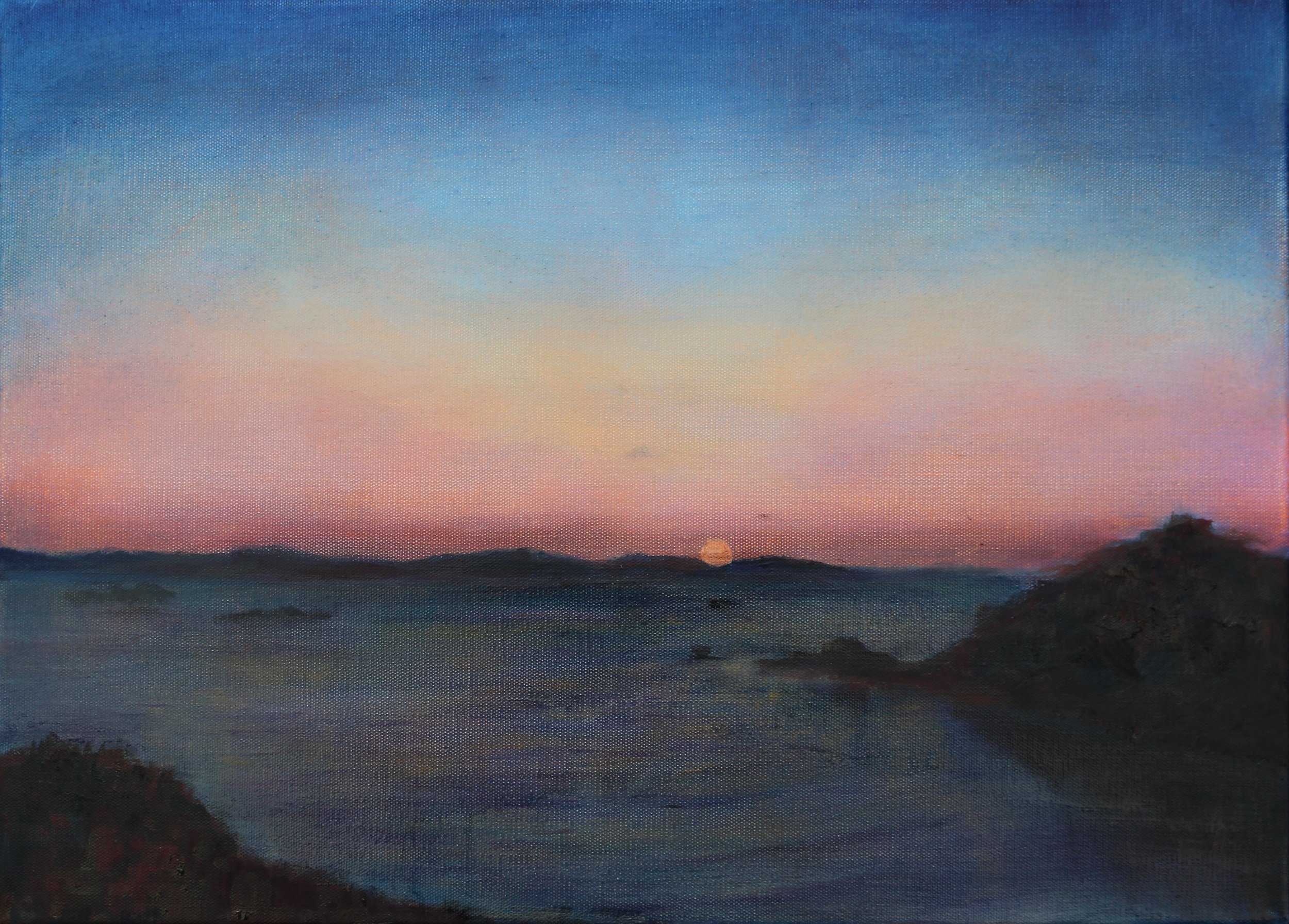 Dawn over St Martins