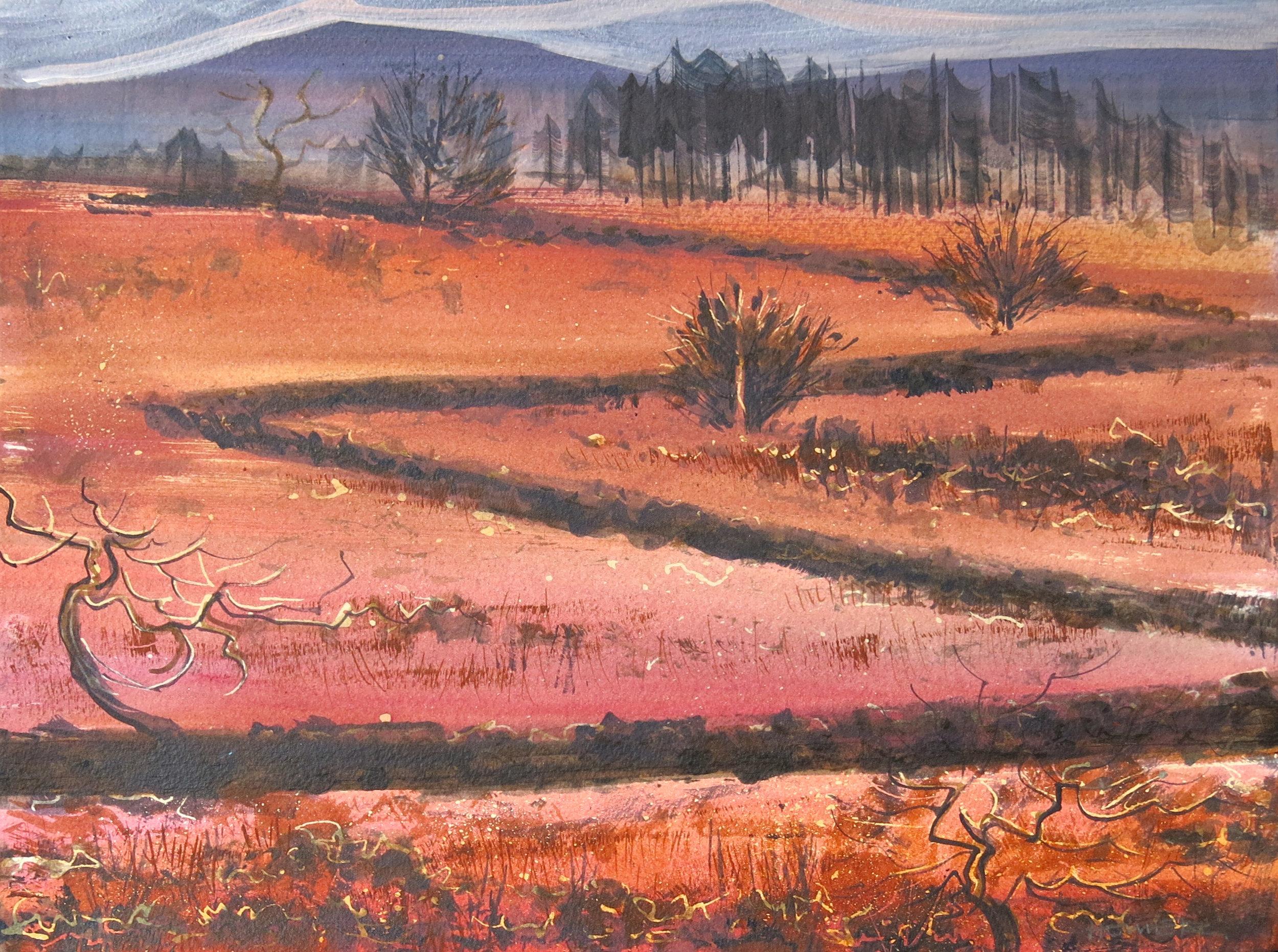 Dartmoor, Acrylic.