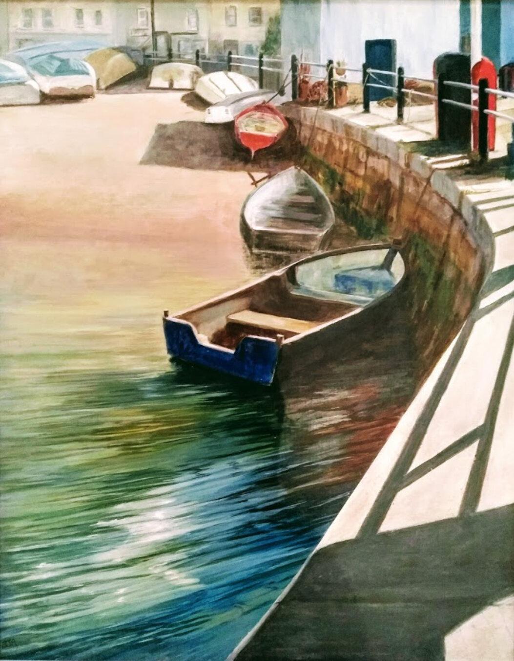 Brixham harbour - Barbara Armstrong.jpg