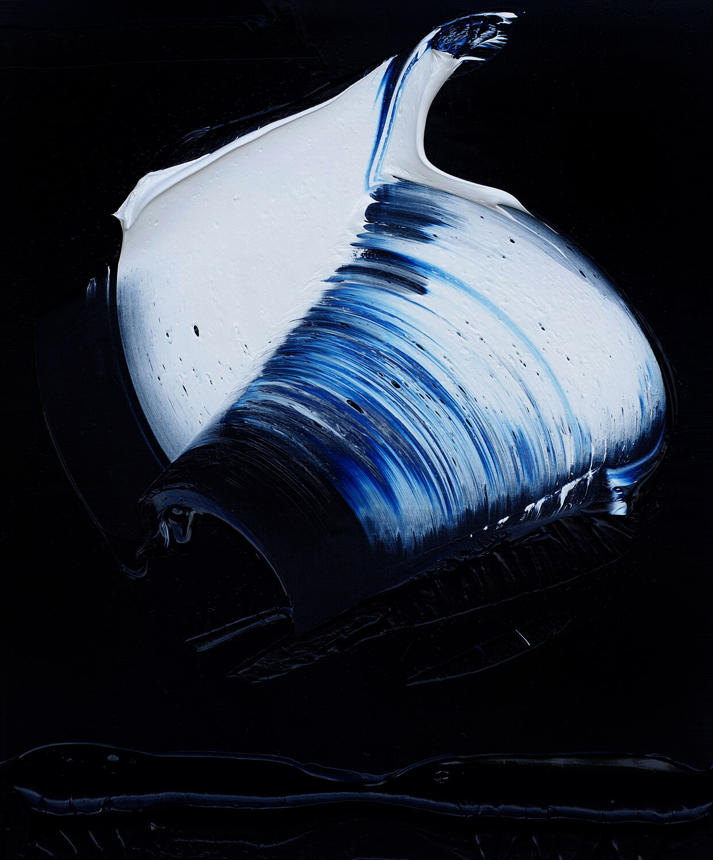 """Blue 4, oil on linen, 24""""x20"""", 2019"""