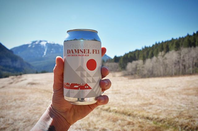 We love when our guests send us photos of our cans on their adventures! What adventure will you be going on with your favorite Mountains Walking brew?