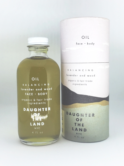 daughter of the land oil