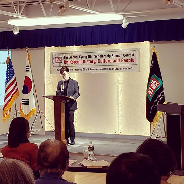 "William ""Forging an Identity through Blood and Tears"" #kscholarship #scholarship #highschool #speechcompetition  #kcc"