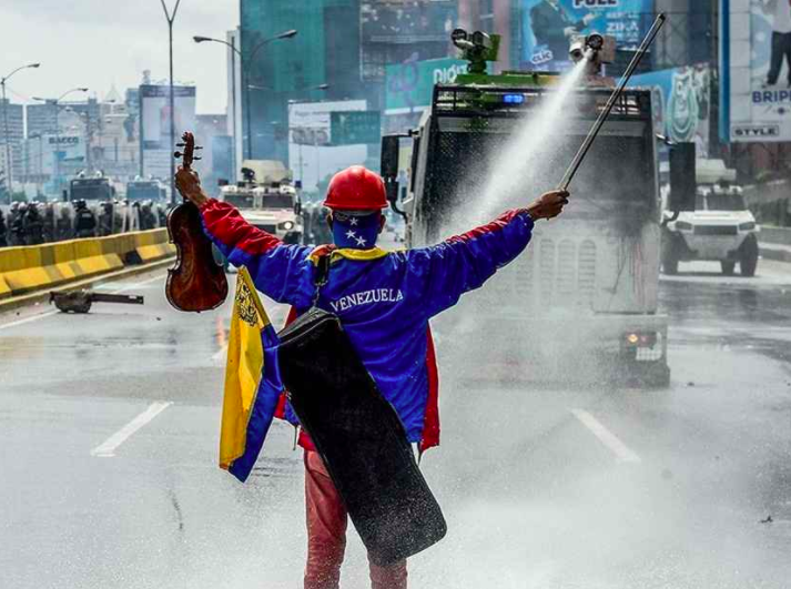Willy Arteaga, musician and human-rights activist, Caracas, Venezuela, prior to his arrest by Venezuelan National Guard forces, August 2017.