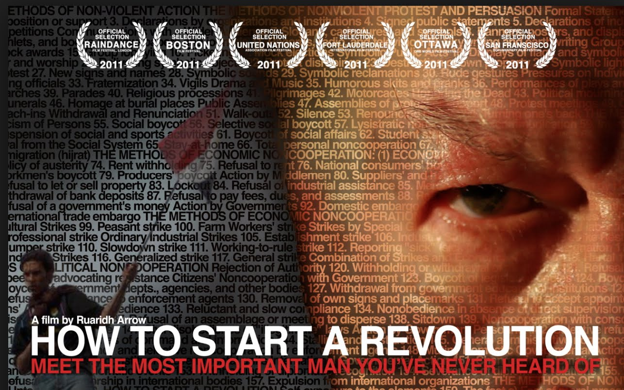 How to Start a Revolution,  a documentary film about the work of political scientist Gene Sharp and the Albert Einstein Institution (also featuring Jamila Raquib and Robert L. Helvey).