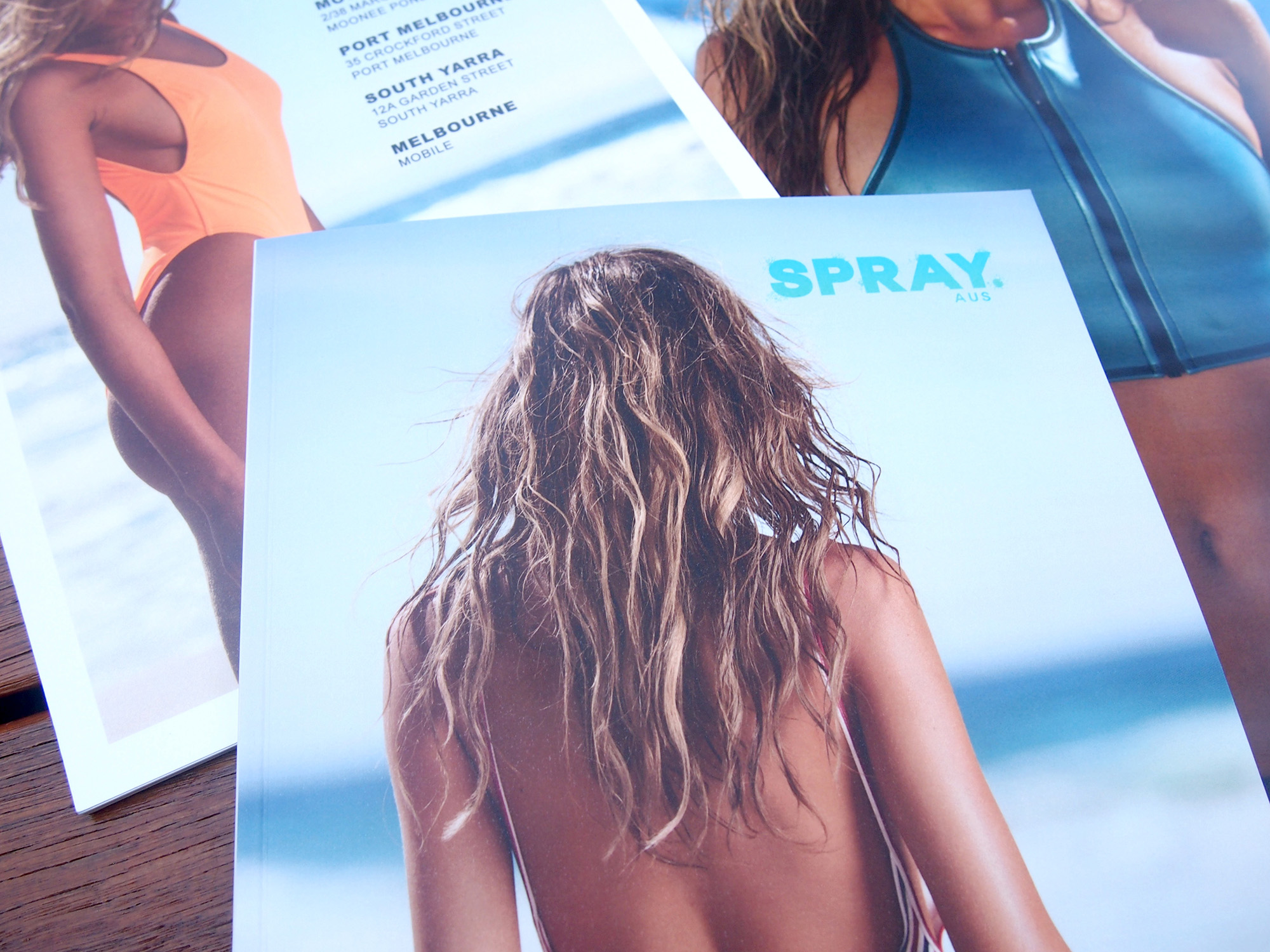 Detail of Spray Aus tanning training materials