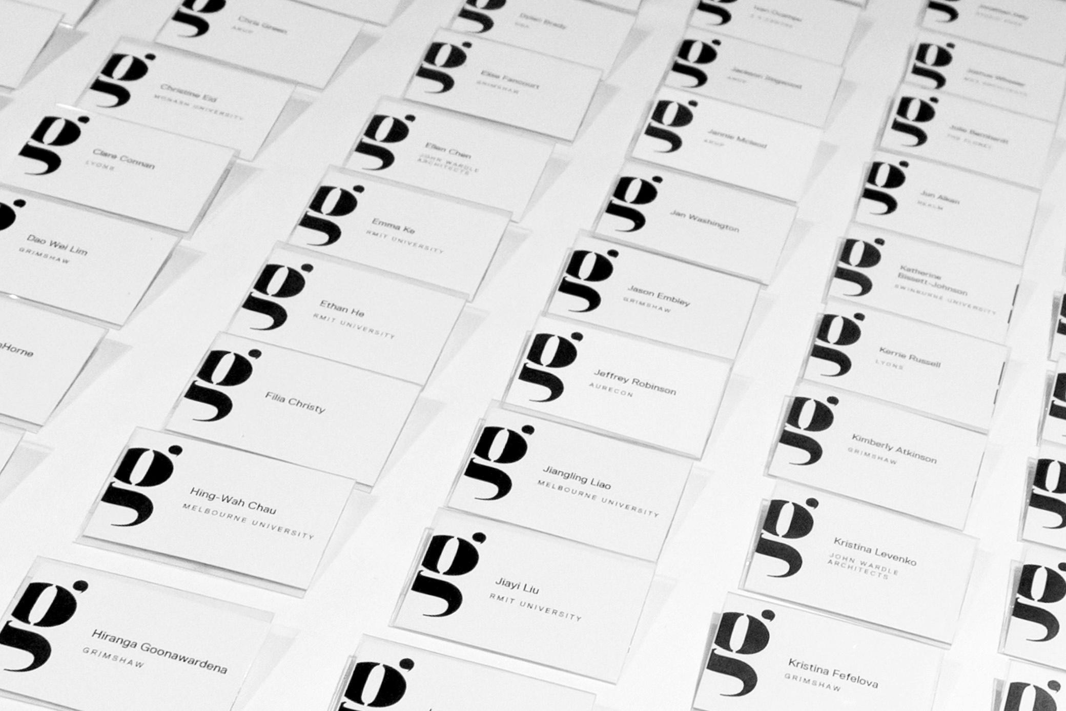 Gallery Name badges
