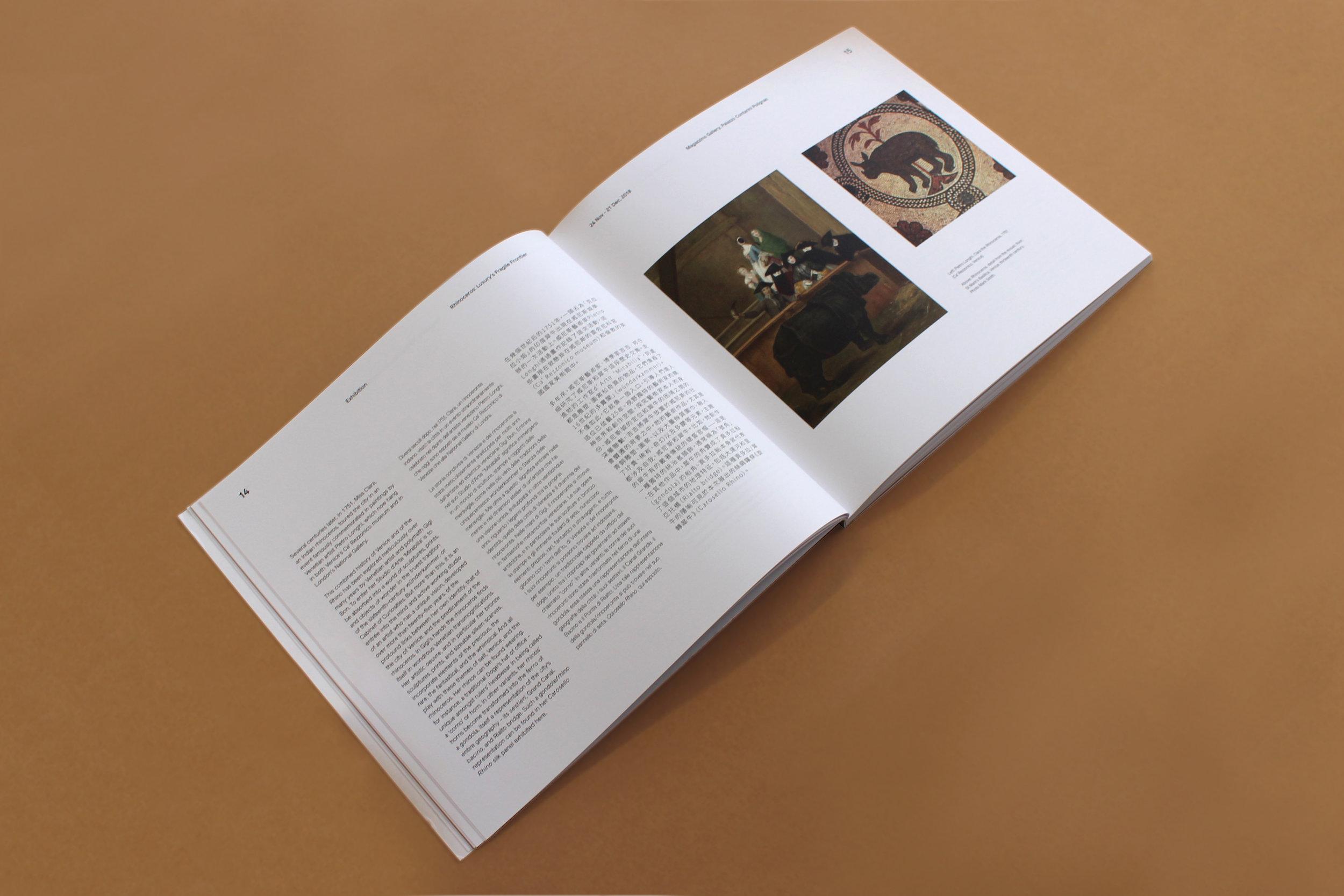 Rhinoceros - Luxury's Fragile Frontier Exhibition catelouge