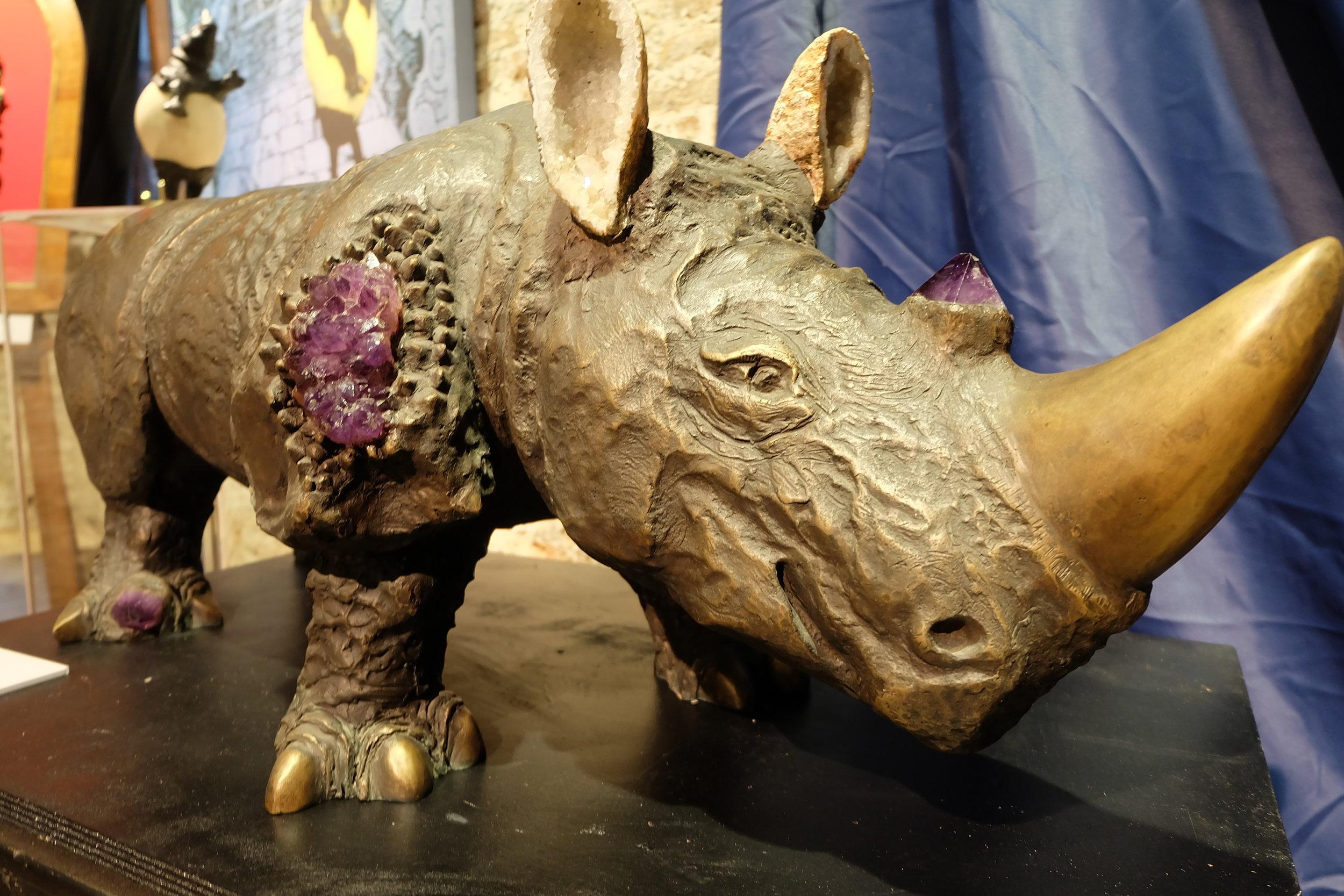 Artemisia by Gigi Bon at the Rhinoceros: Luxury's Fragile Frontier exhibition