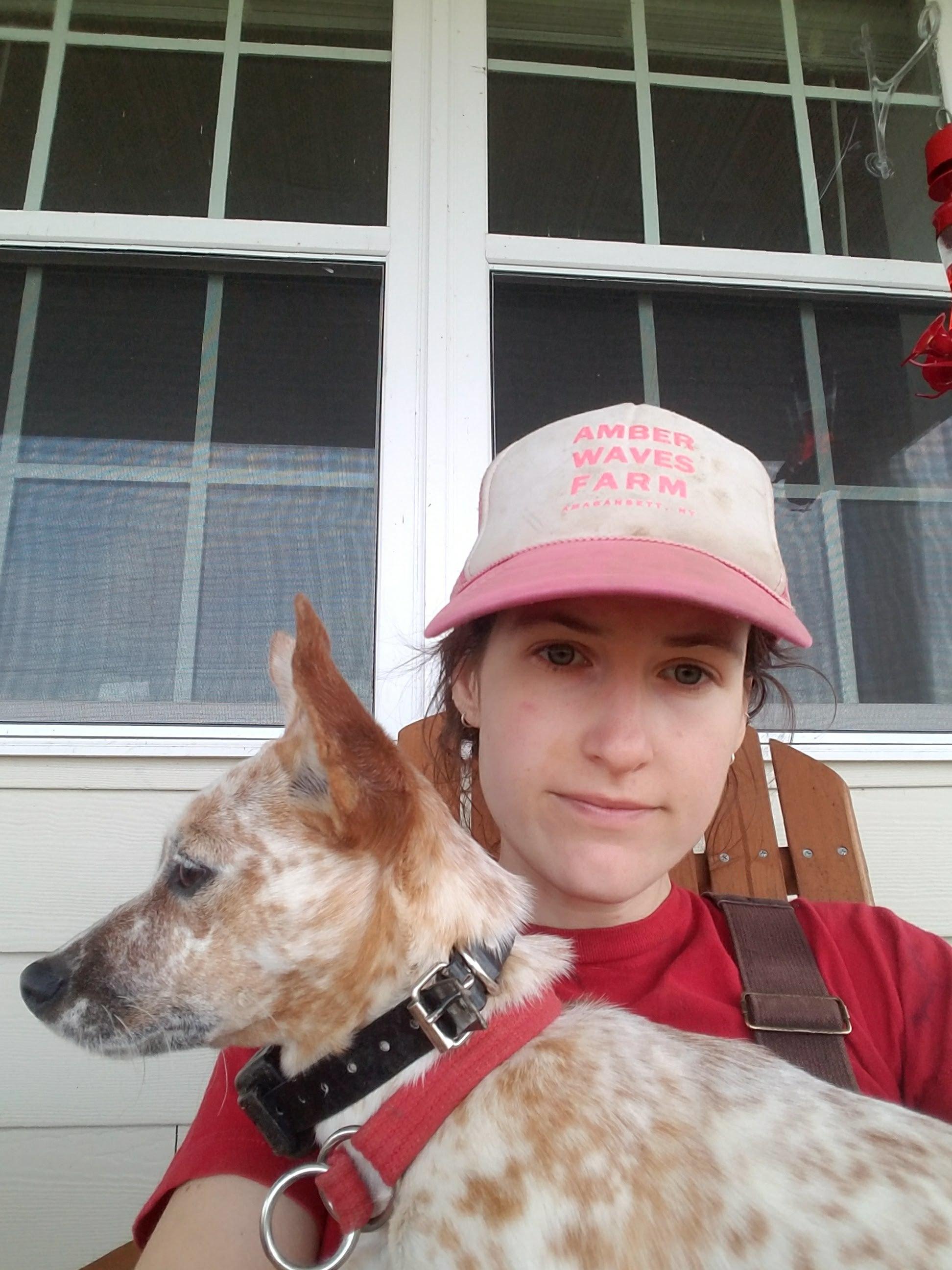 Rosie in profile