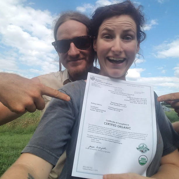 We're certifiable!