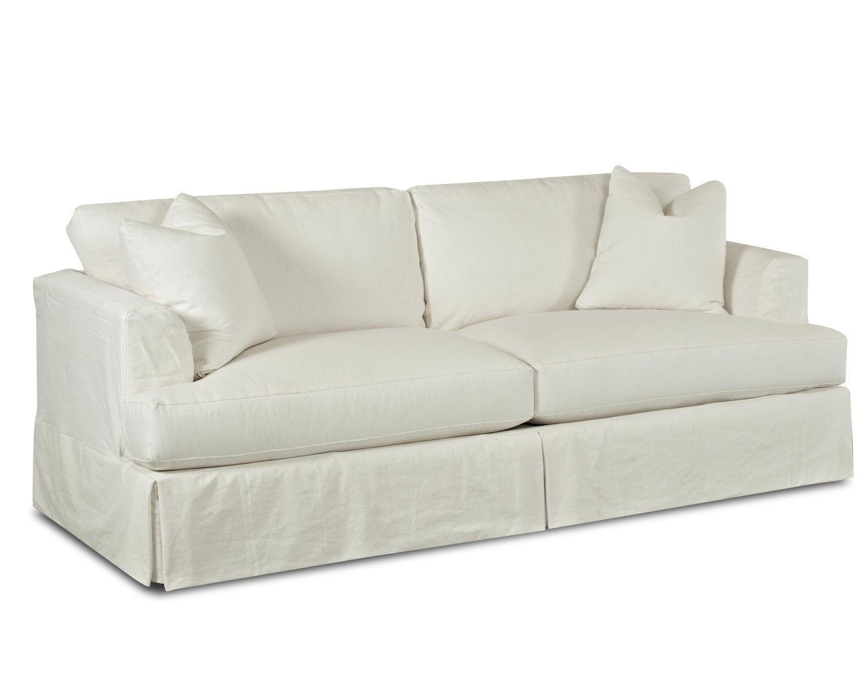 Customizable Bentley Slipcover Sofa