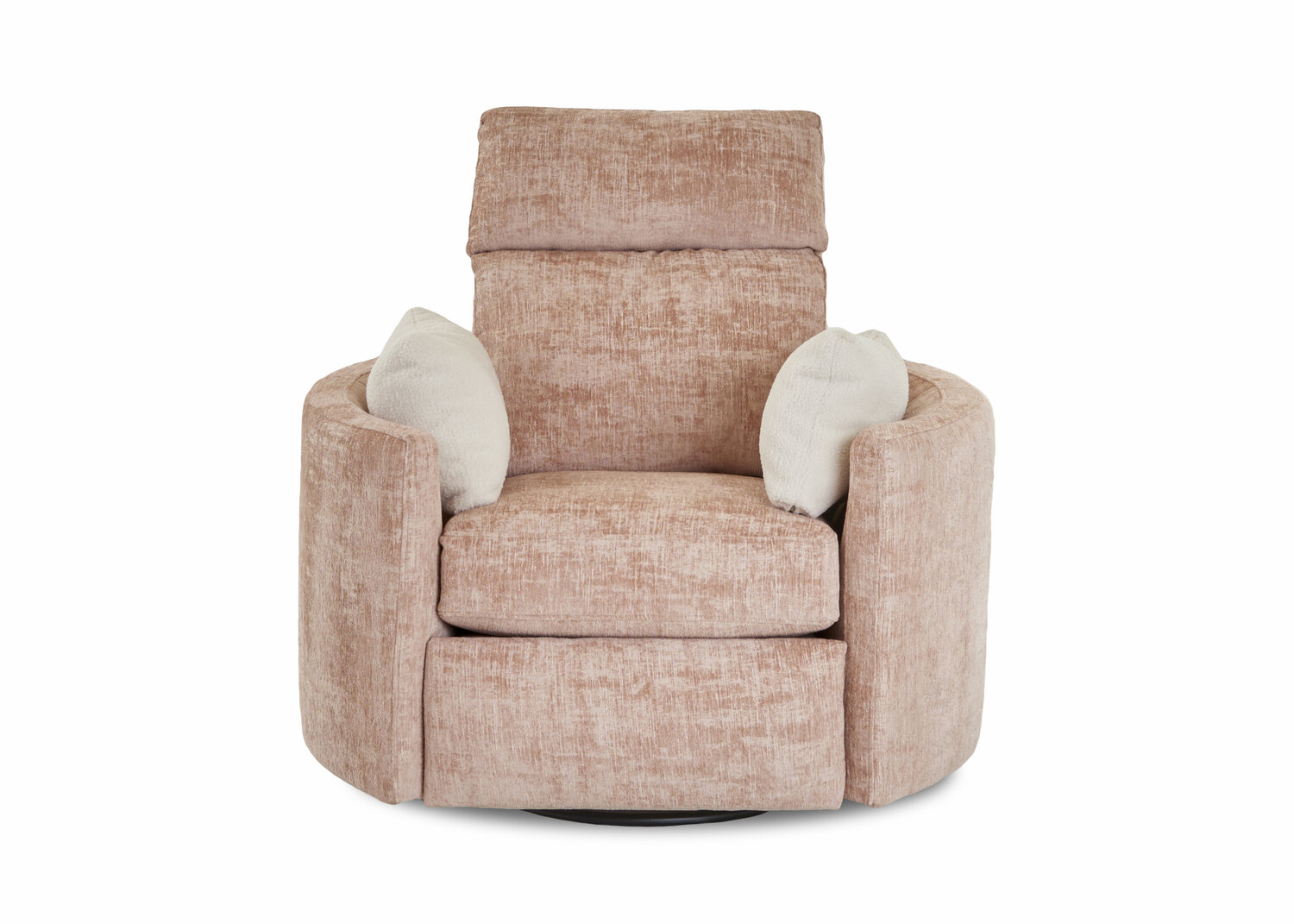 Customizable Cosmo Reclining Chair, Club Chair Recliner Swivel
