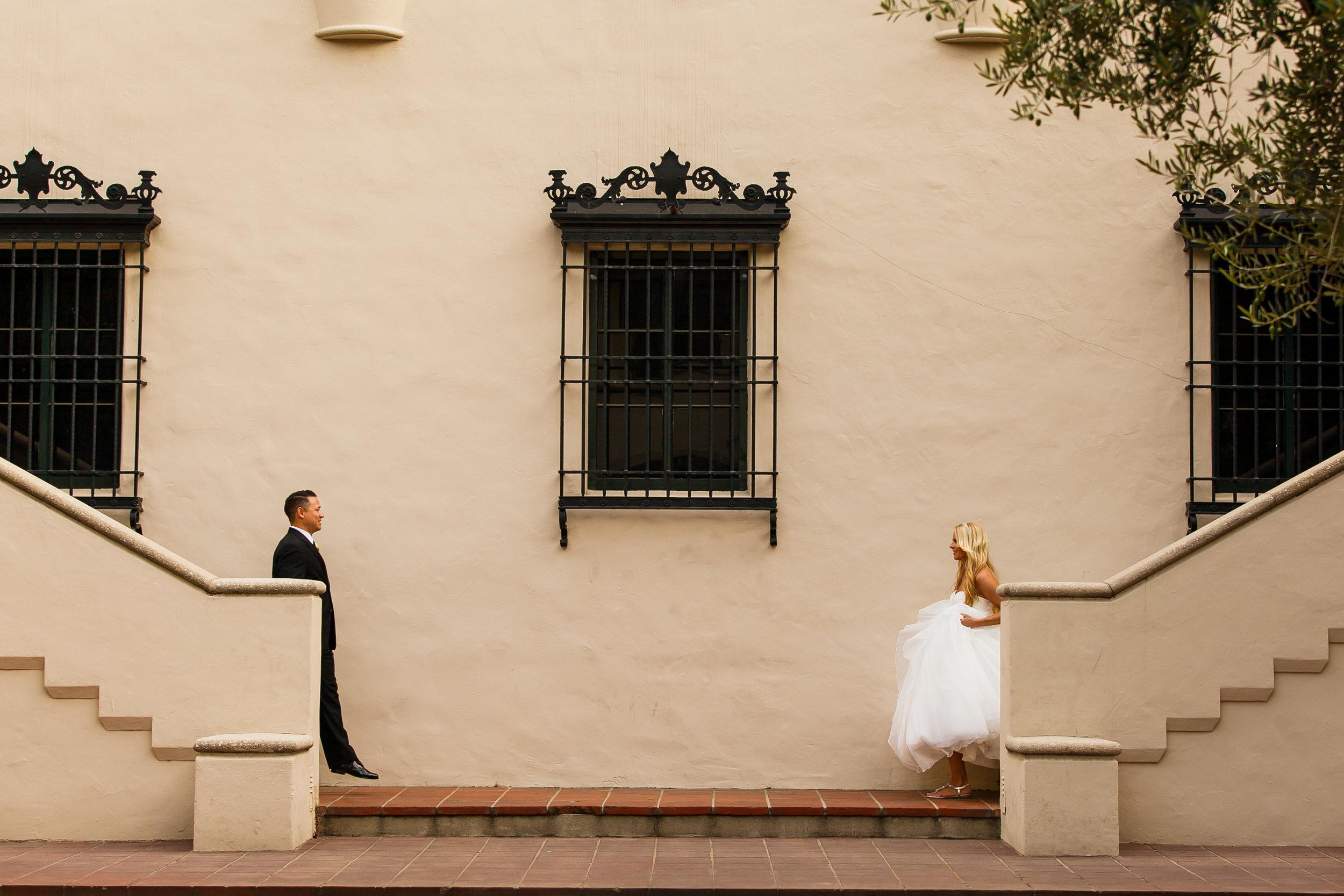 WEDDING AT THE ATHENAEUM AT CALTECH IN PASADENA, CALIFORNIA