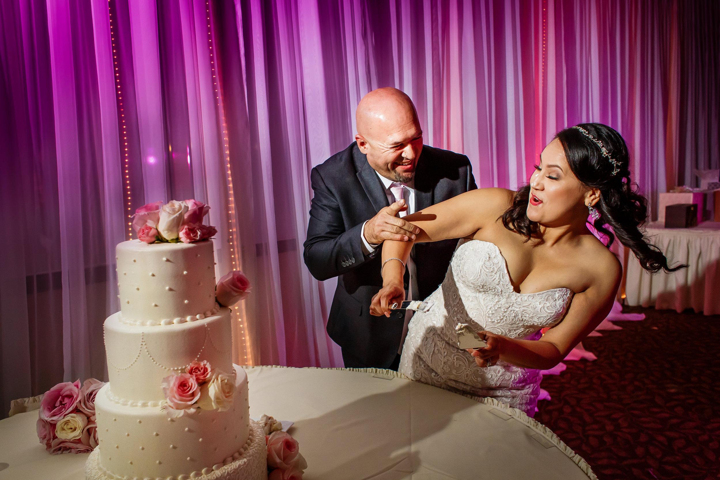 WEDDING AT LA MIRADA GOLF COURSE IN LA MIRADA, CALIFORNIA