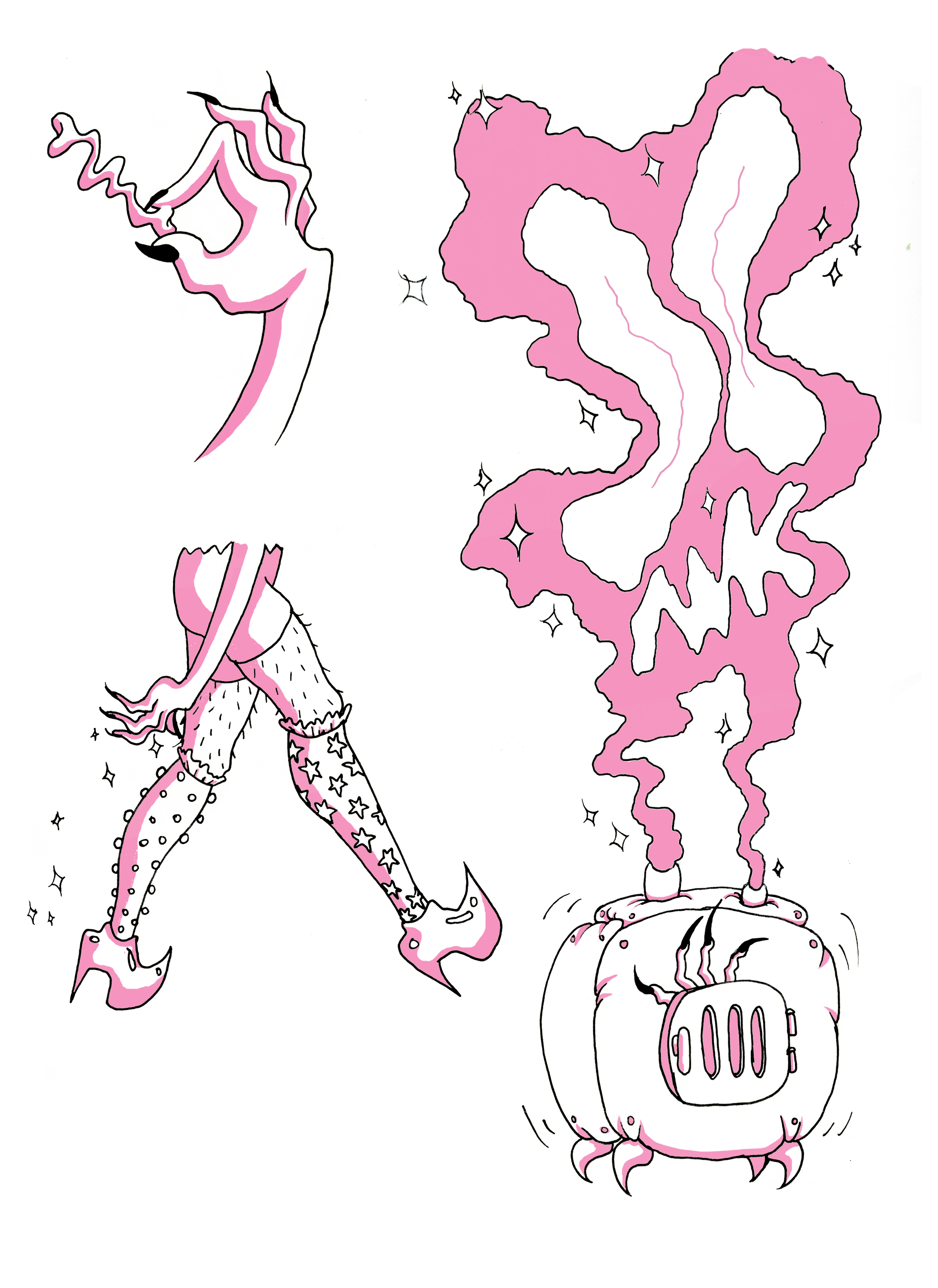 Hob & Goblin Spot Illustrations