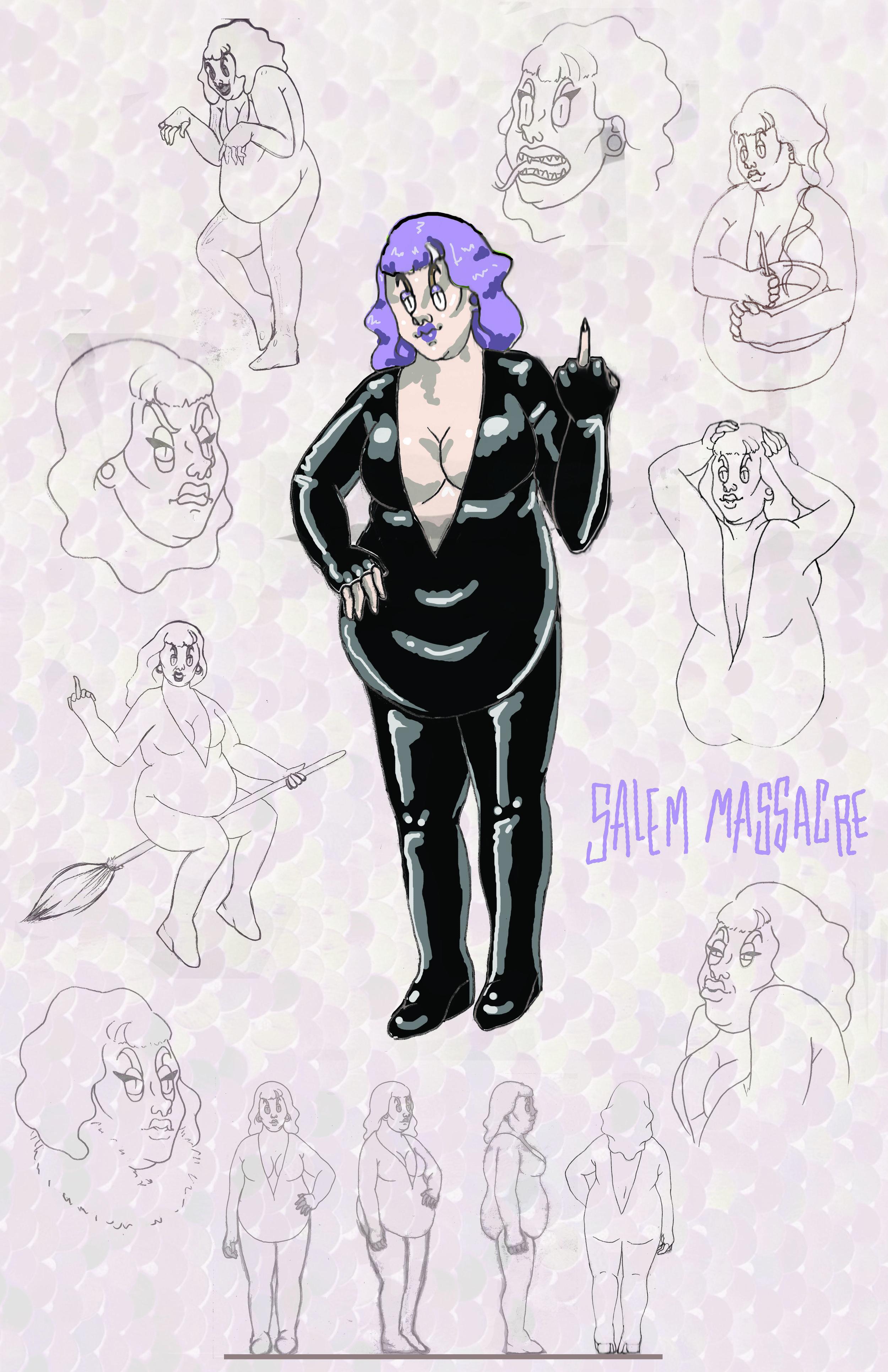 Salem Massacre Character Sheet