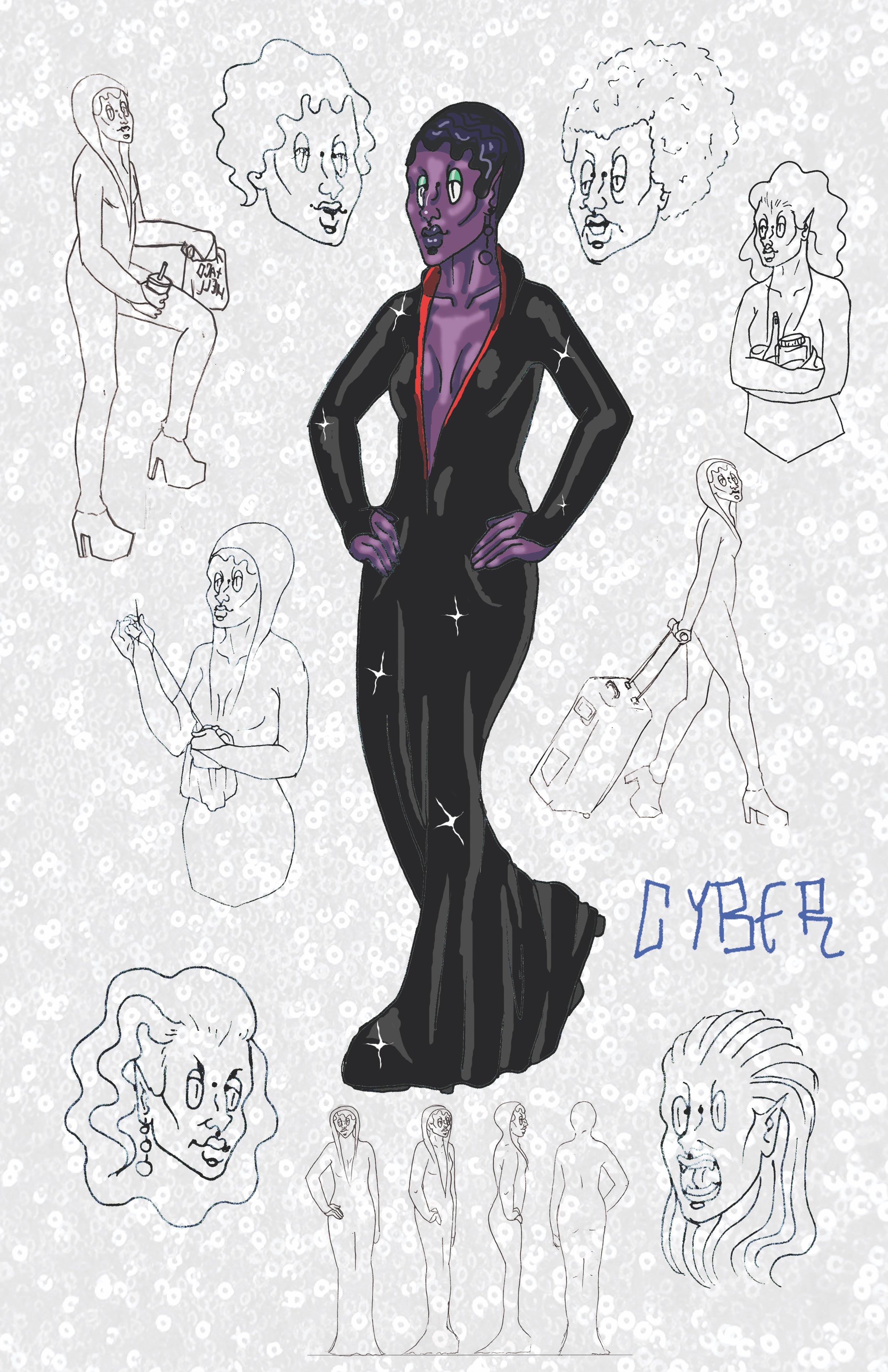 Cyber Character Sheet