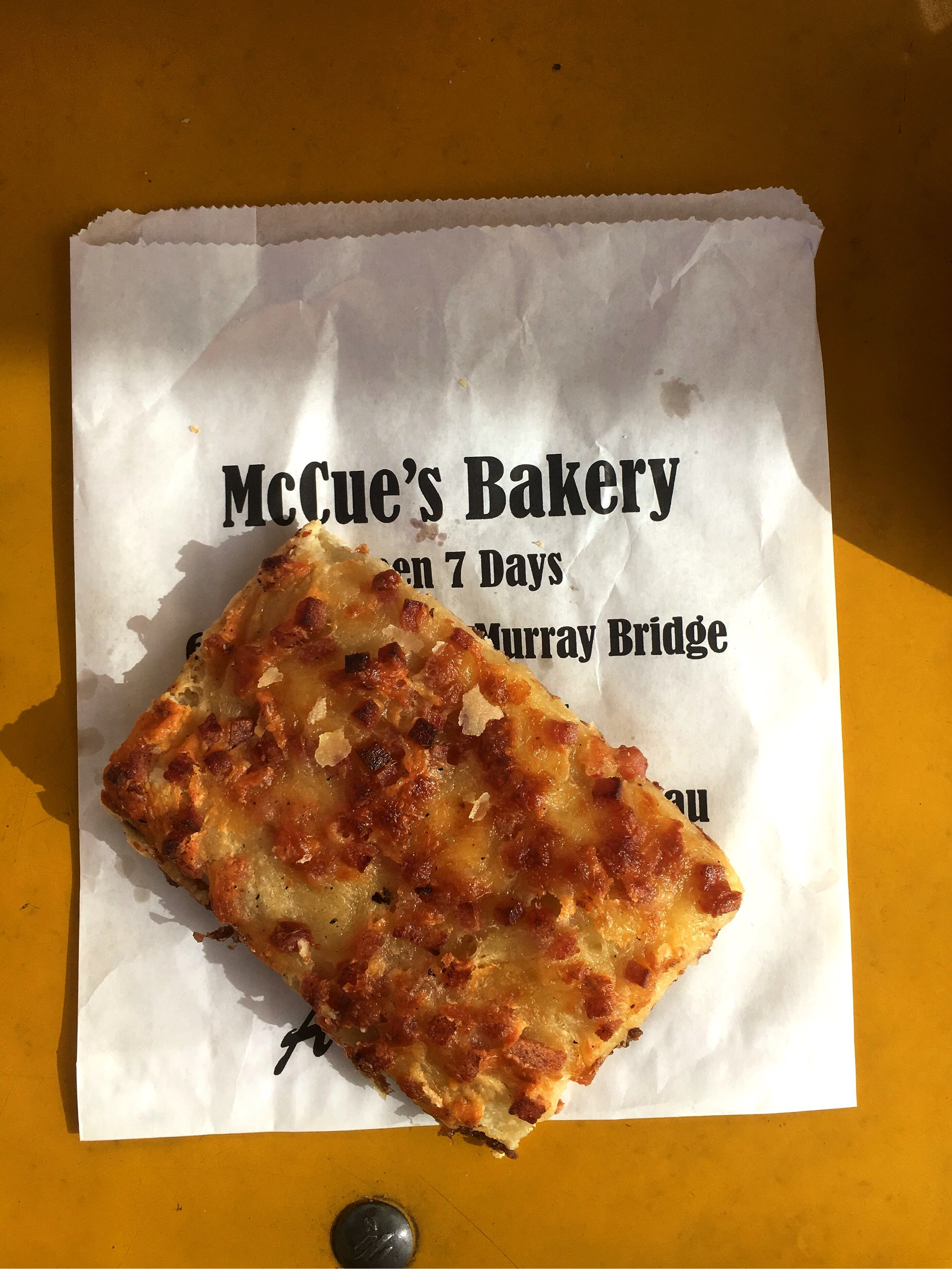 McCue's Bakery may just be the slice champion.