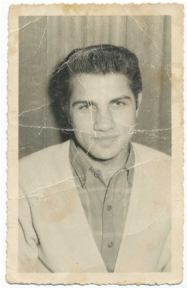 Con Jacomos as a young man. Photo provided by Lisa Jacomos, used with permission.