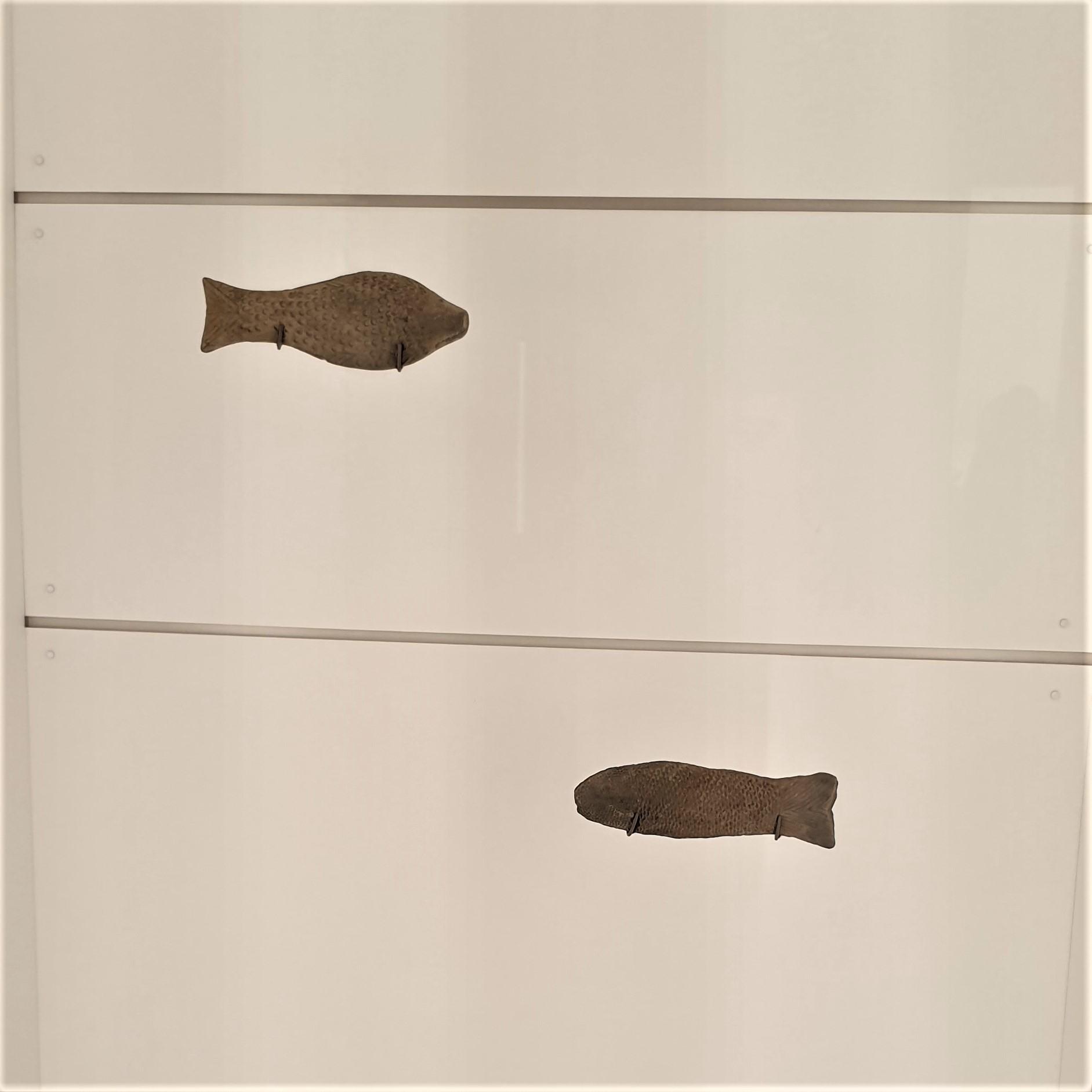 Toy Fish. Qin dynasty 221-207 BCE. Earthenware. Photograph by Rasheeda Wilson.