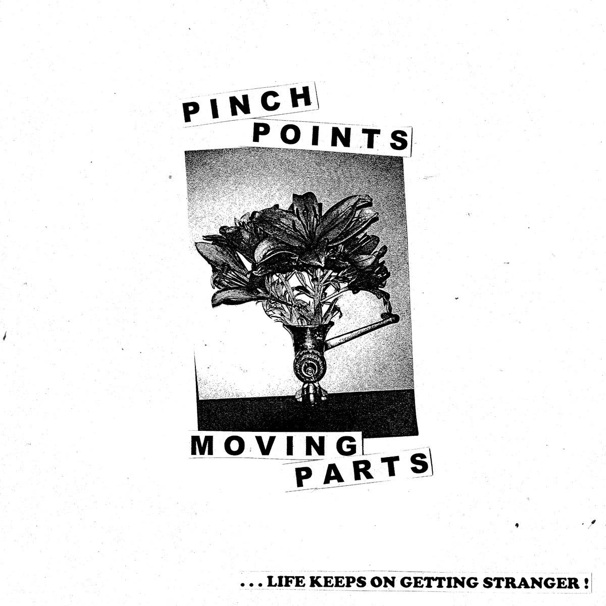 Pinch Points' LP cover, sourced from    Bandcamp