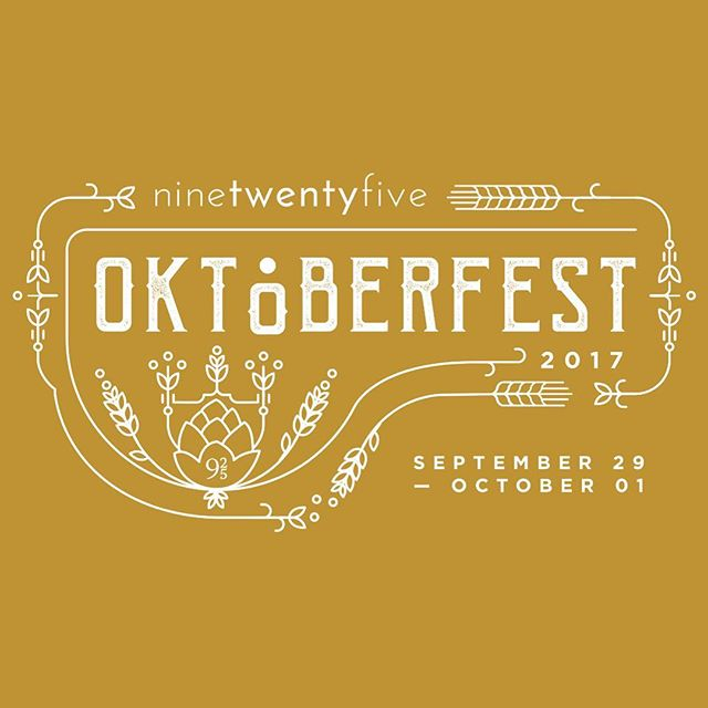 Before October comes to an end we wanted to share a branding project from last October. @hotellanding & @ninetwentyfivewayzata had a spectacular Oktoberfest celebration and we designed the logo and promotional items for the event -  from print ads to T-shirt's, tattoos & more! #oktoberfest #branding