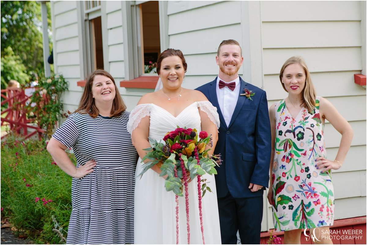 Image courtesy of Sarah Weber Photography | Florals by Floramay | Venue Old Flat Bush School